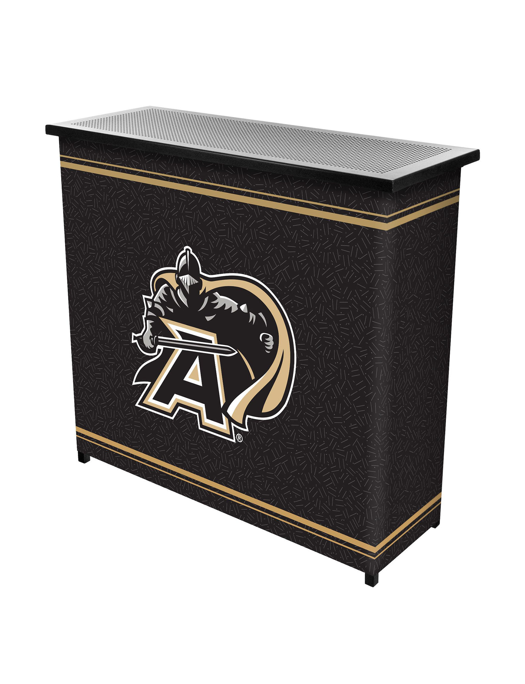 NCAA Black / Gold Bar & Wine Storage Kitchen & Dining Furniture