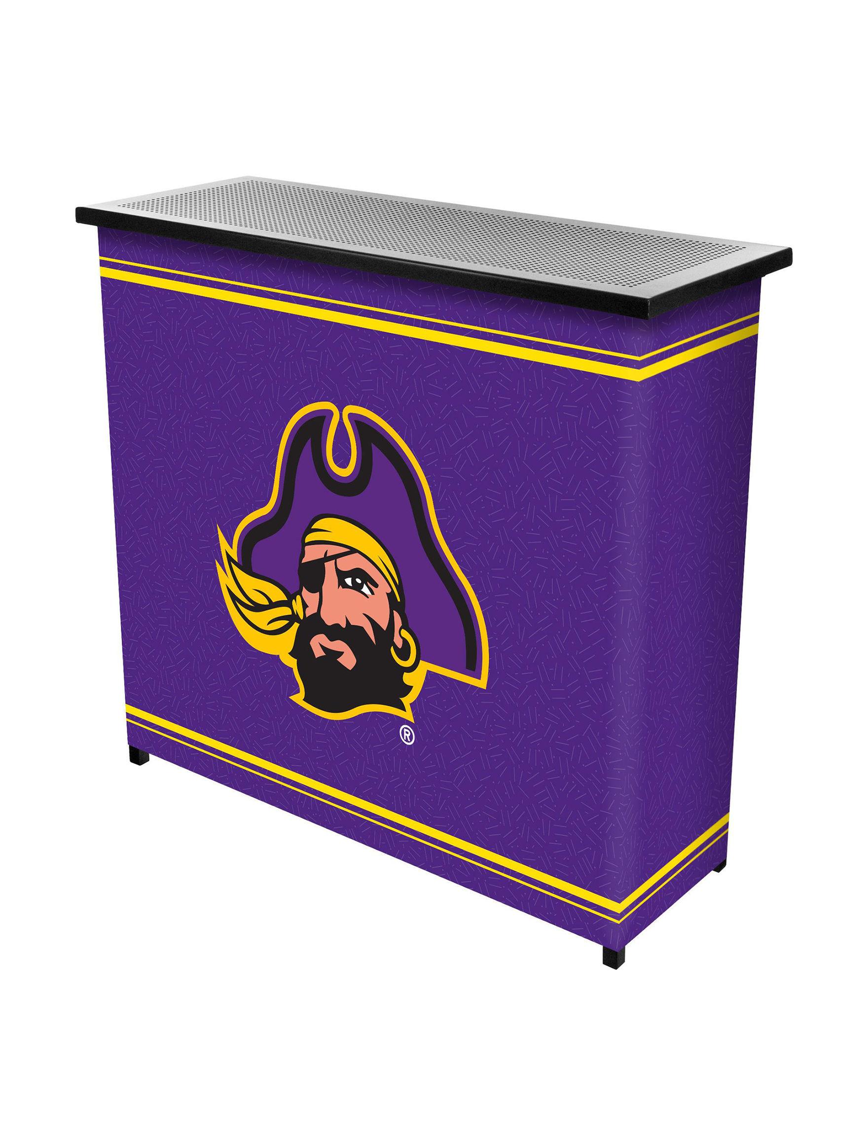 NCAA Purple / Gold Bar & Wine Storage Kitchen & Dining Furniture