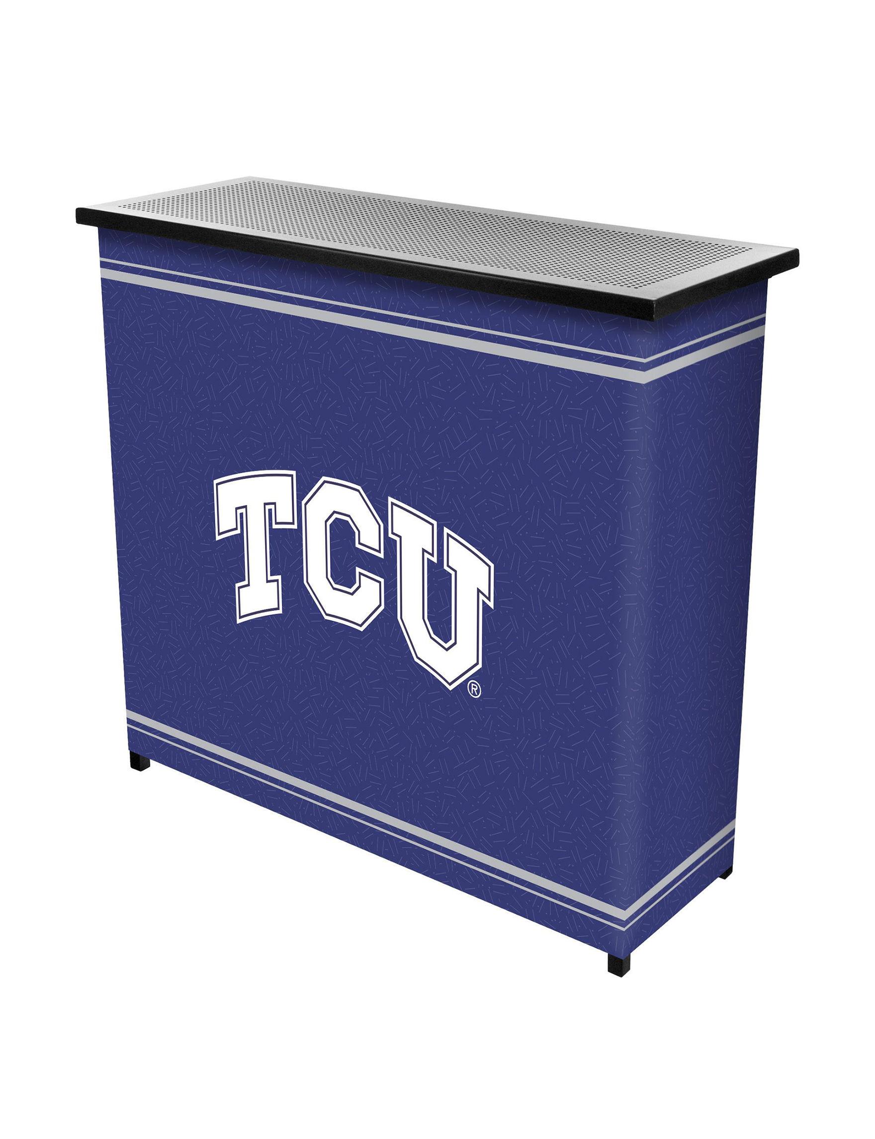 NCAA Purple / White Bar & Wine Storage Kitchen & Dining Furniture