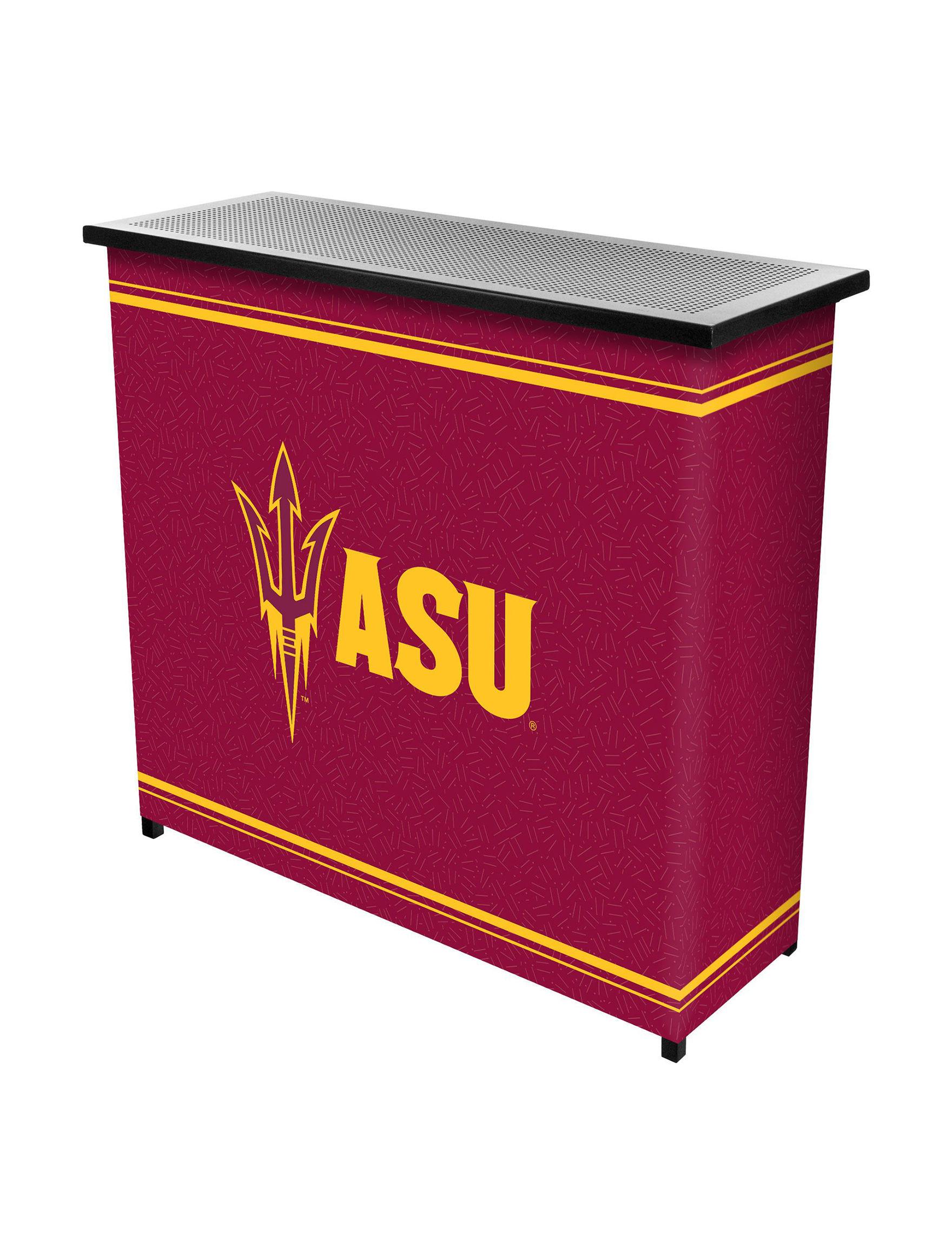 NCAA Red / Gold Bar & Wine Storage Kitchen & Dining Furniture