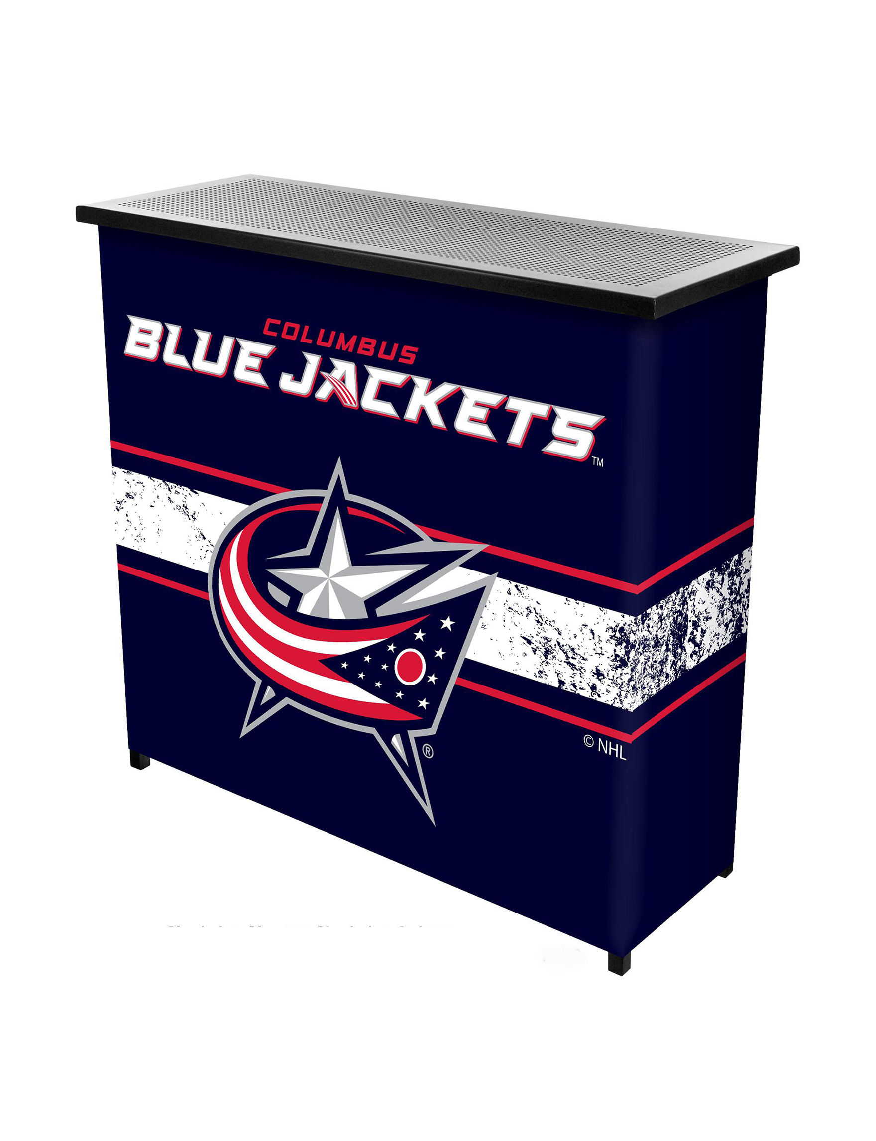 NHL Blue Bar & Wine Storage Game Room Outdoor Decor