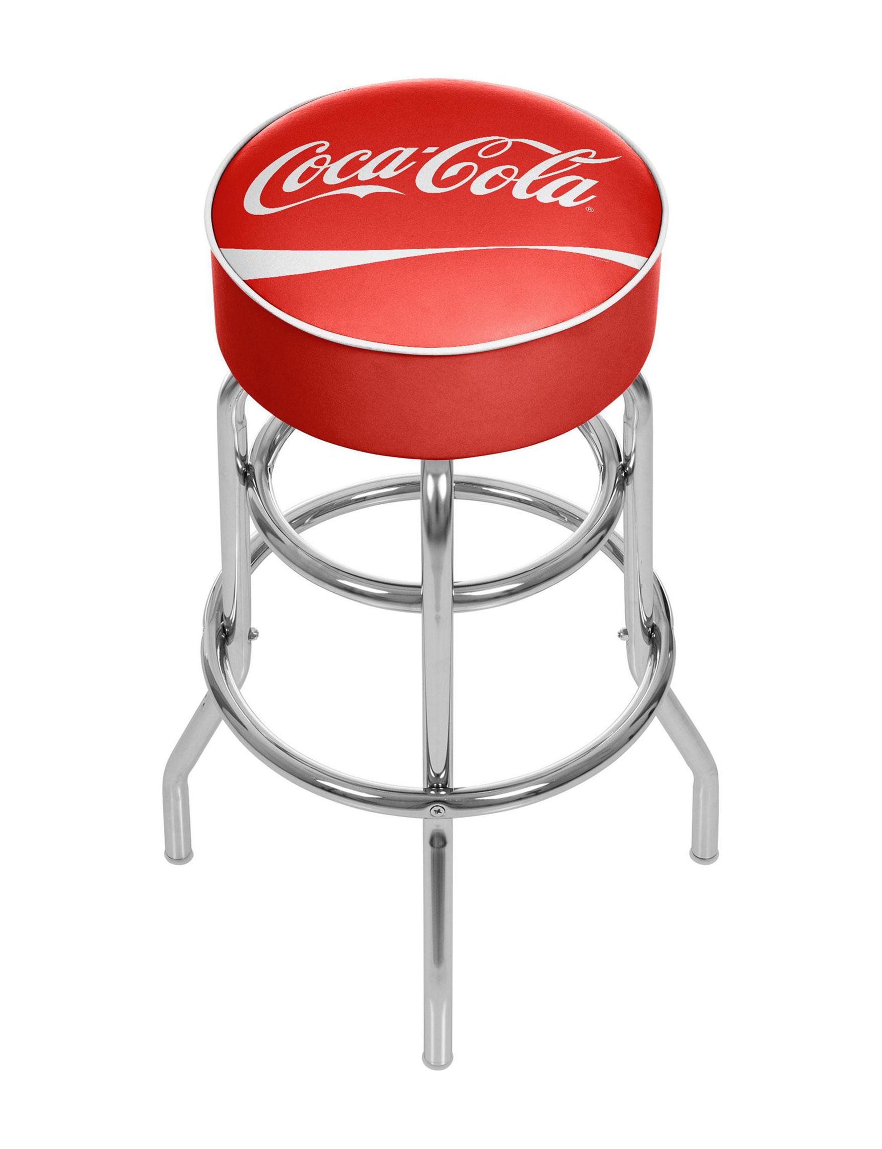 Coca Cola Red / White Bar & Kitchen Stools Kitchen & Dining Furniture