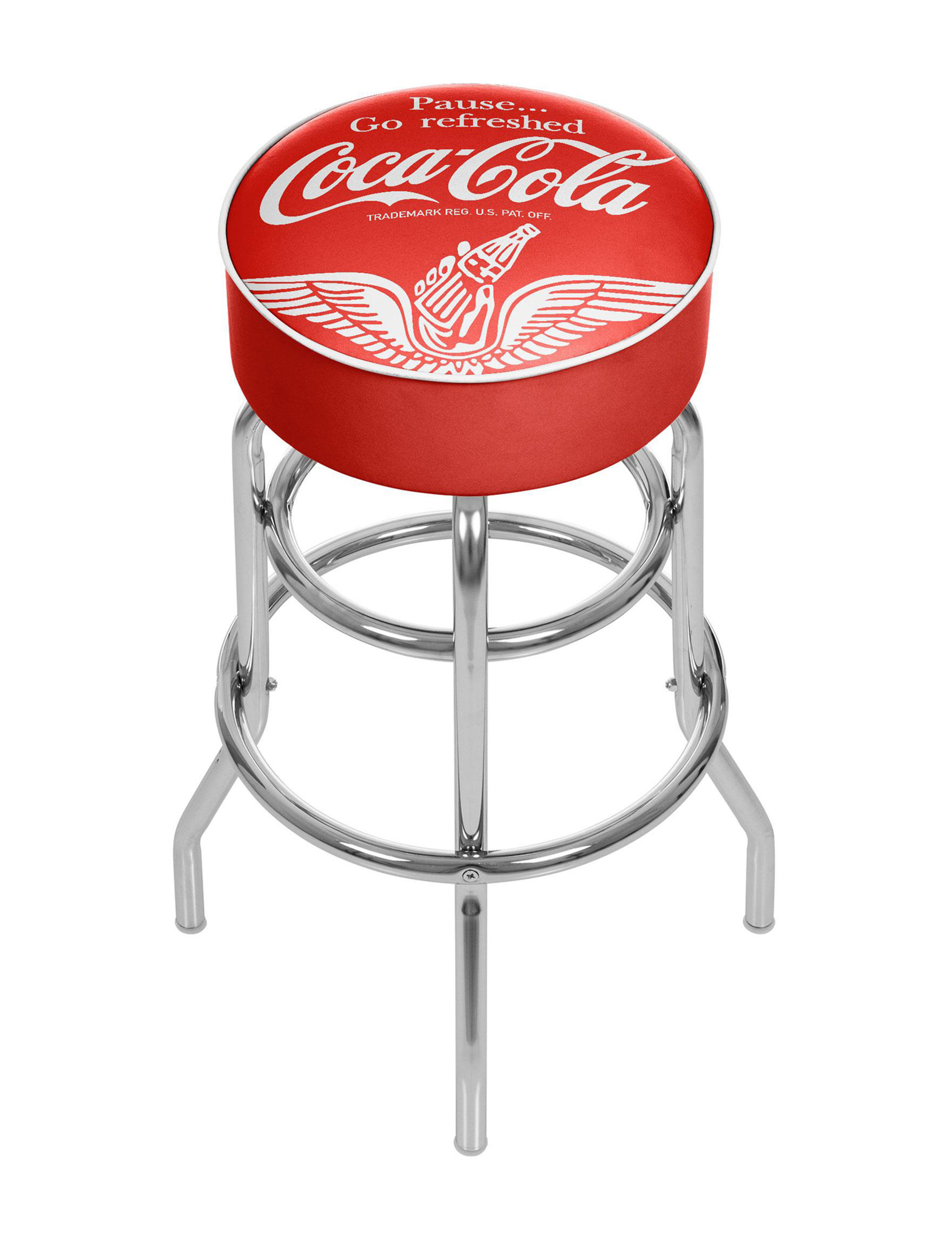 Coca Cola Red / White Bar & Kitchen Stools Kitchen & Dining Furniture