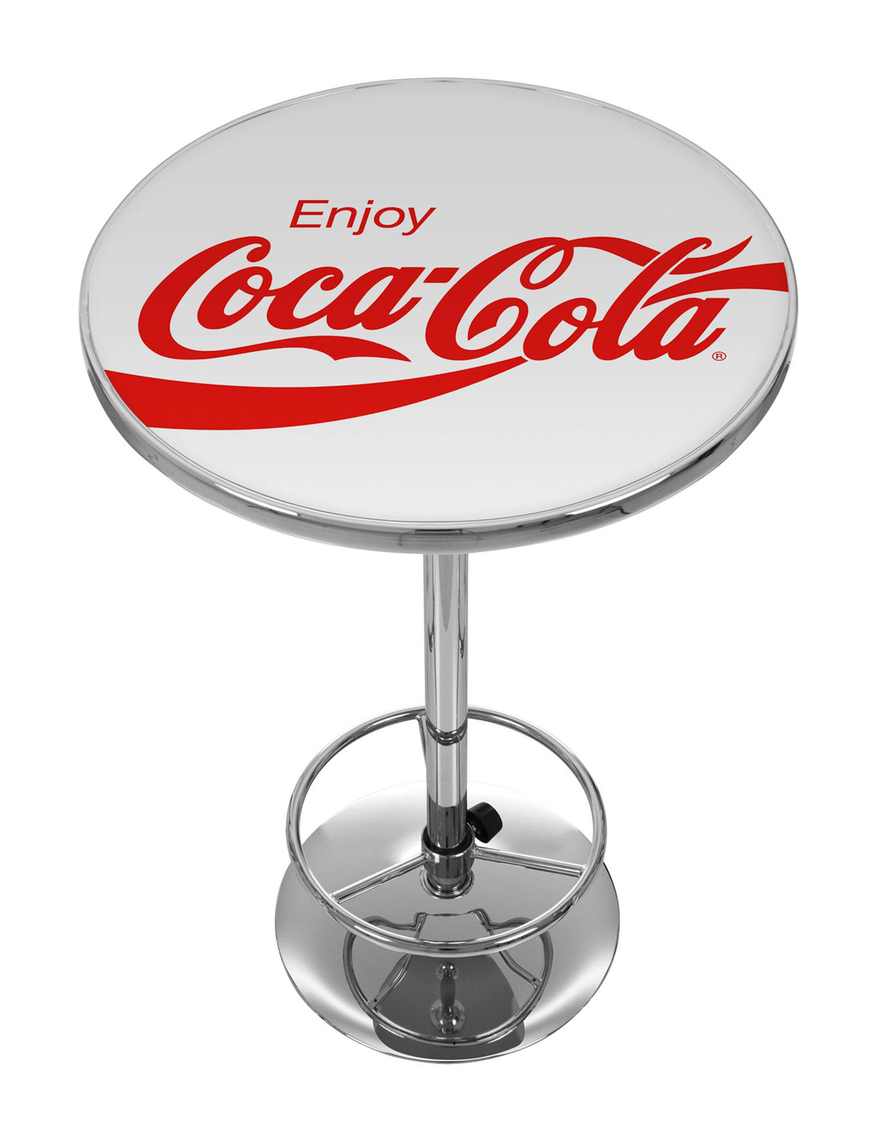 Coca Cola White / Red Dining Tables Kitchen & Dining Furniture