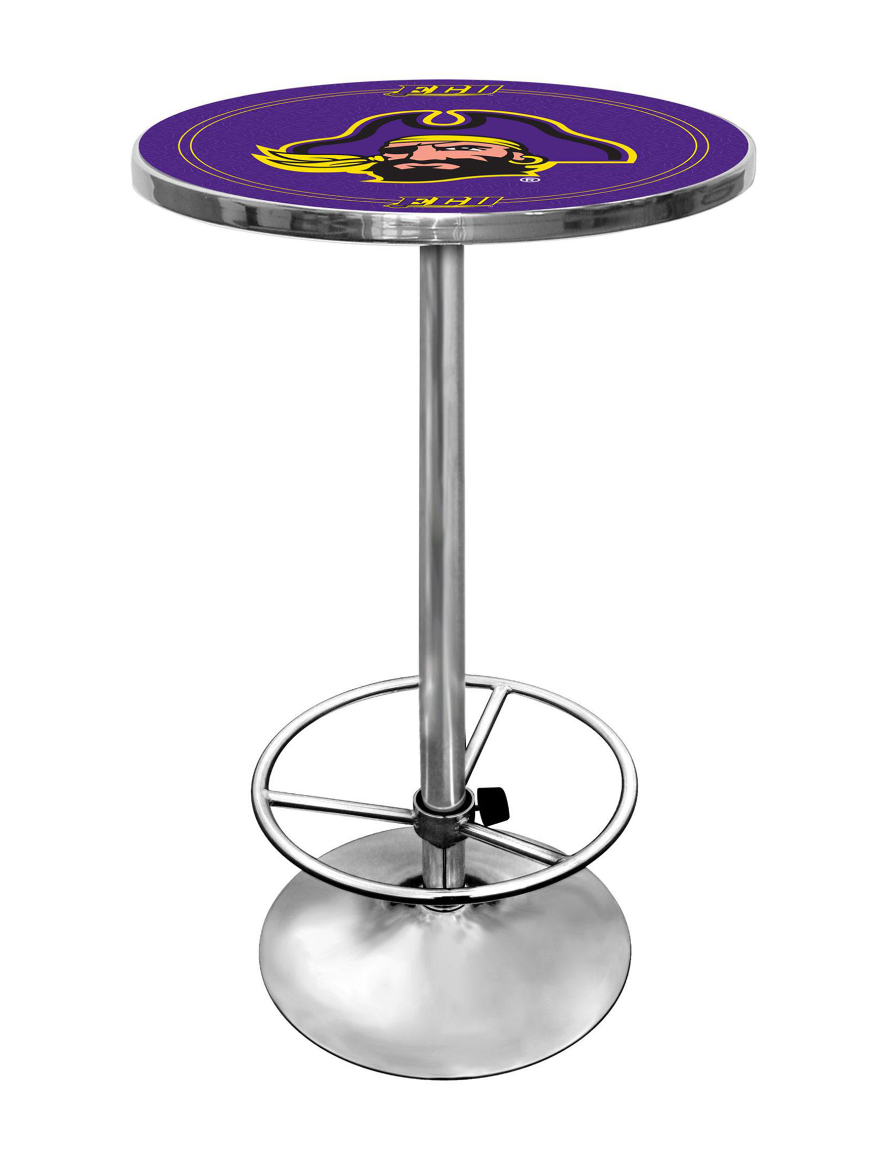 NCAA Purple / Gold Dining Tables Kitchen & Dining Furniture