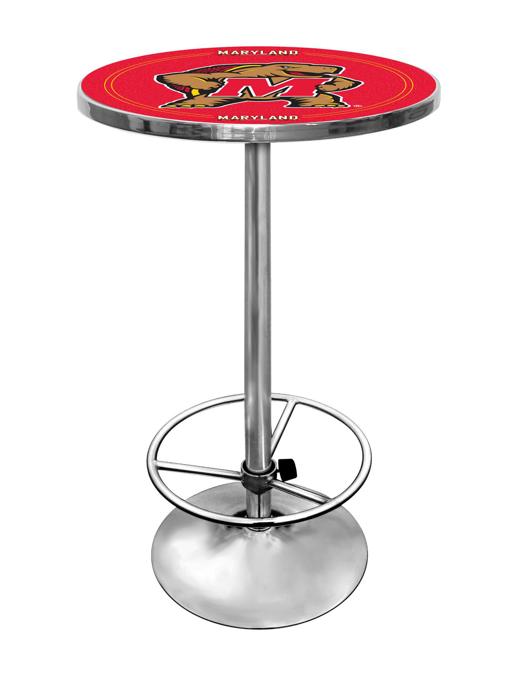 NCAA Red / Gold Dining Tables Kitchen & Dining Furniture