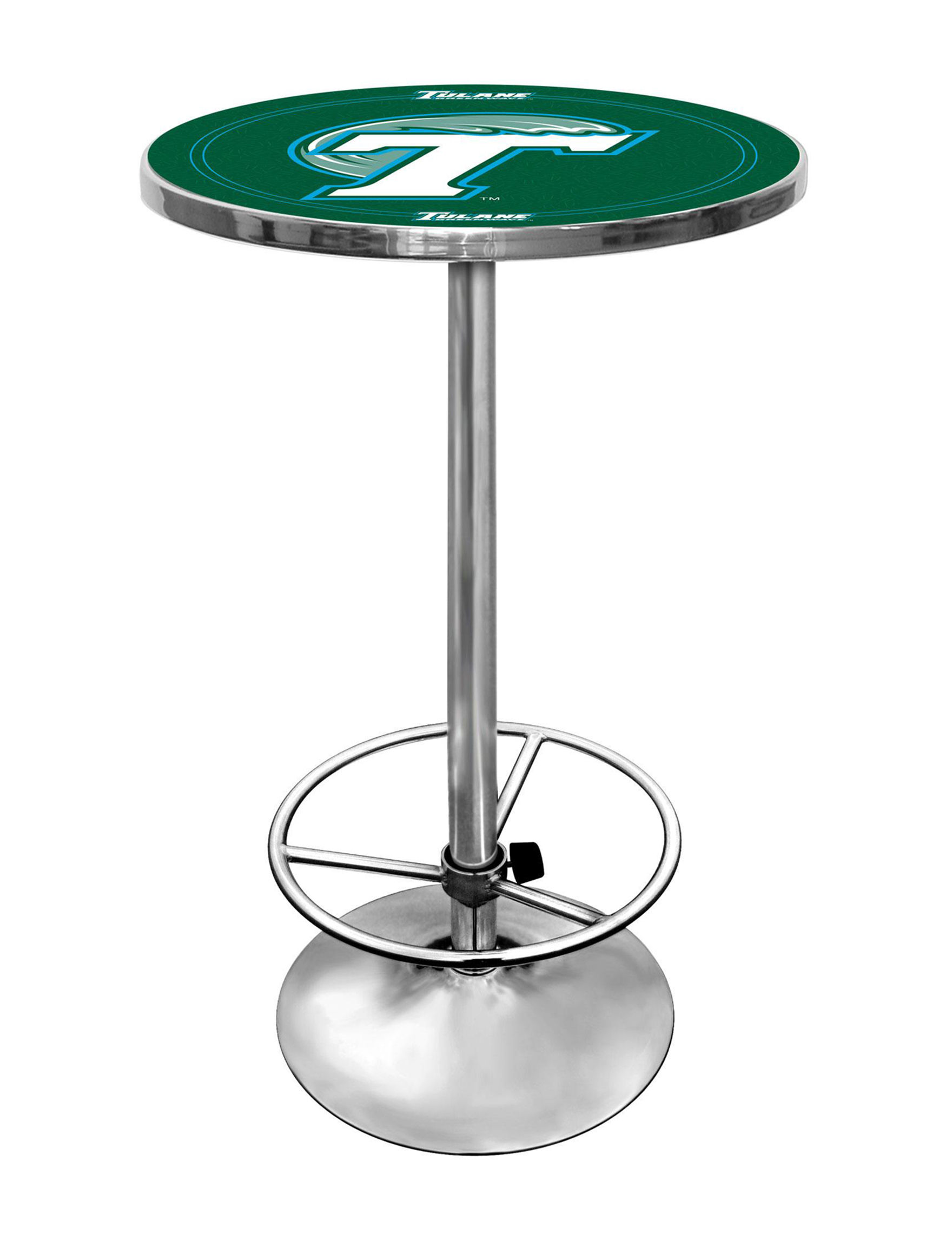 NCAA White / Blue / Green Dining Tables Kitchen & Dining Furniture