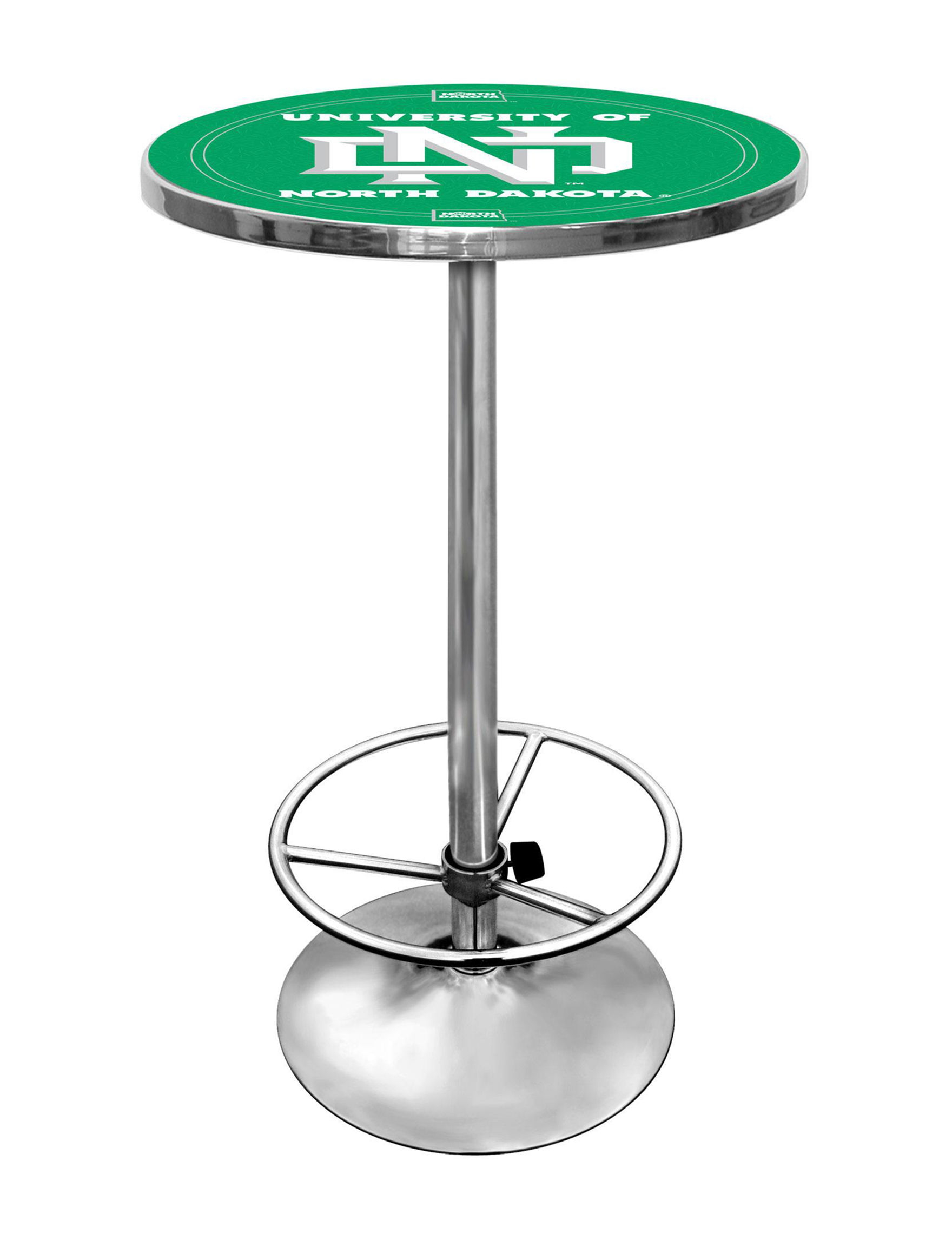 NCAA Green / White Dining Tables Kitchen & Dining Furniture NCAA