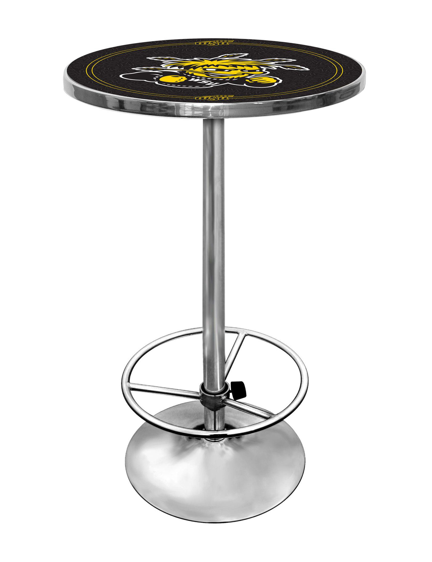 NCAA Black / Yellow Dining Tables Kitchen & Dining Furniture