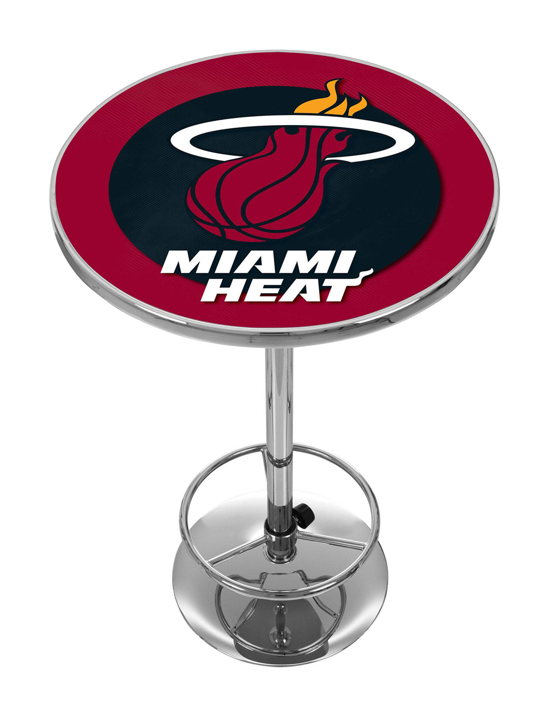 NBA Red / Black / White Dining Tables Kitchen & Dining Furniture NBA