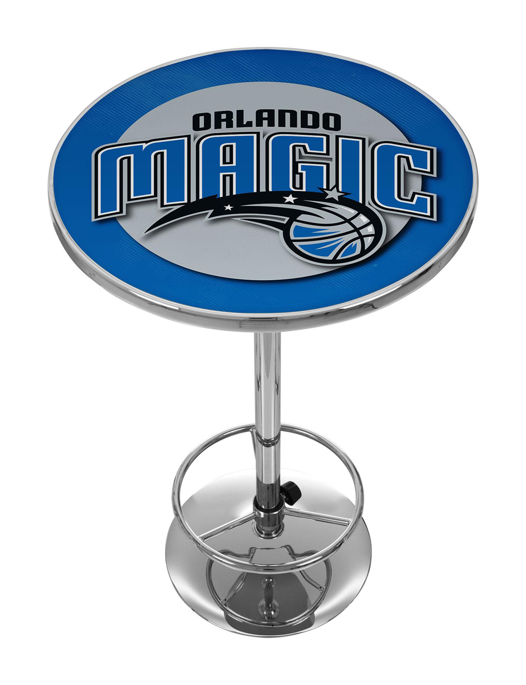 NBA Blue / Silver Dining Tables Kitchen & Dining Furniture