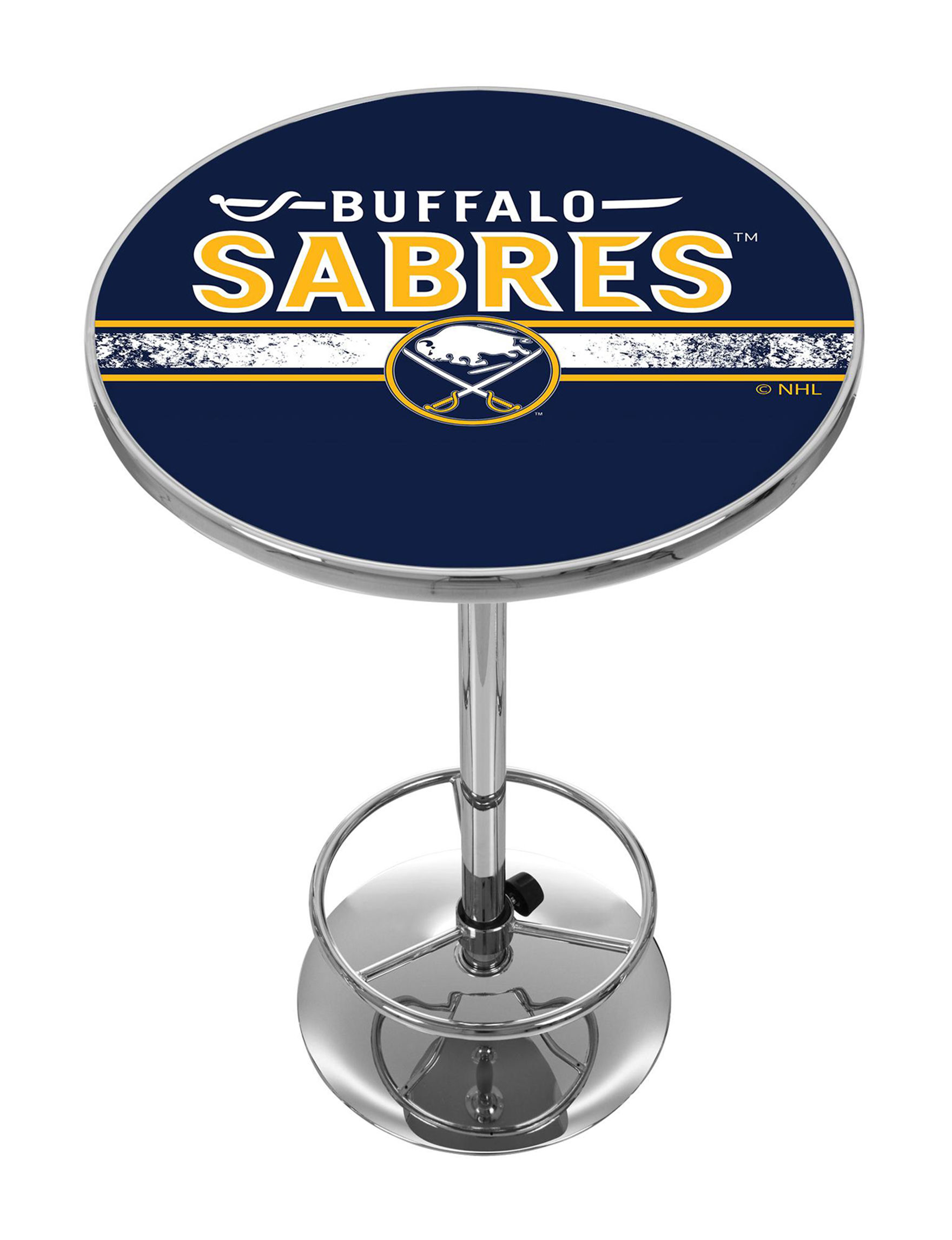 NHL Navy / Yellow Dining Tables Kitchen & Dining Furniture