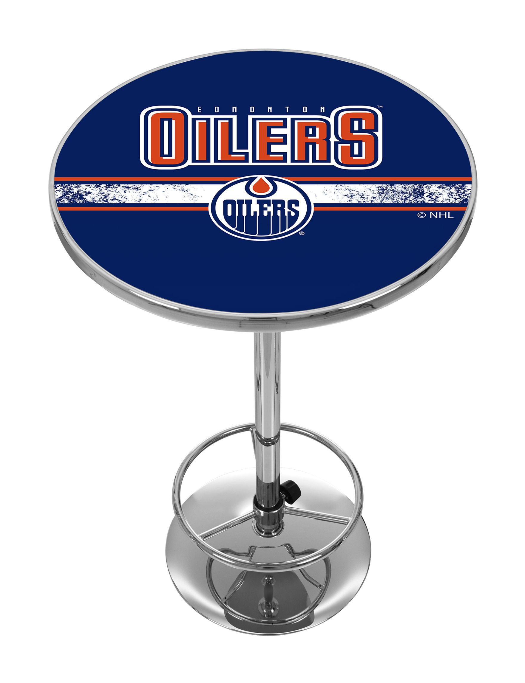 NHL Blue / Orange Dining Tables Kitchen & Dining Furniture