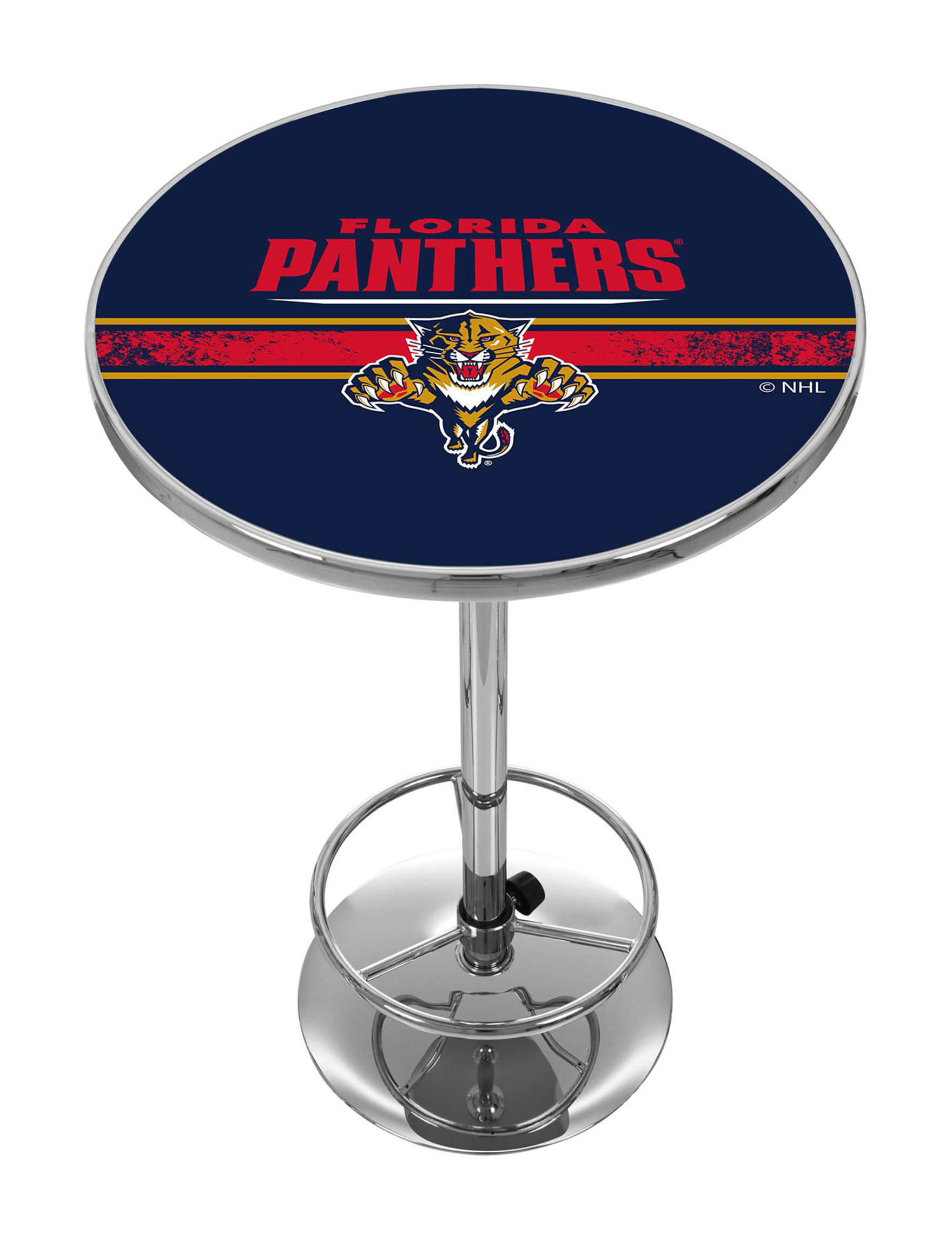 NHL Navy / Red Dining Tables Kitchen & Dining Furniture