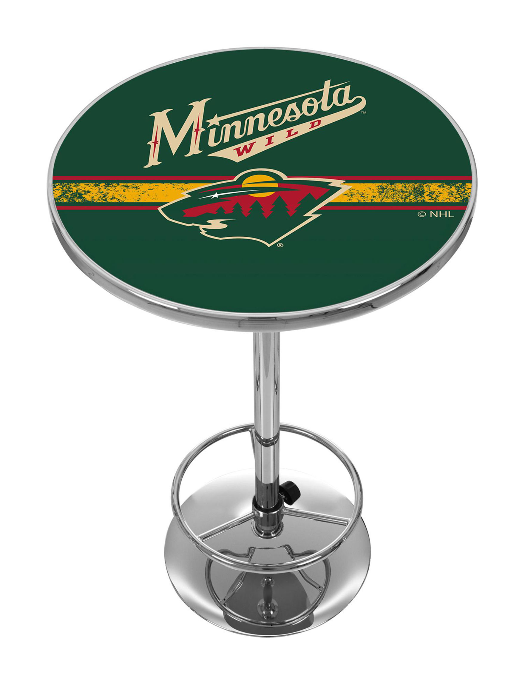 NHL Green / Red Dining Tables Kitchen & Dining Furniture