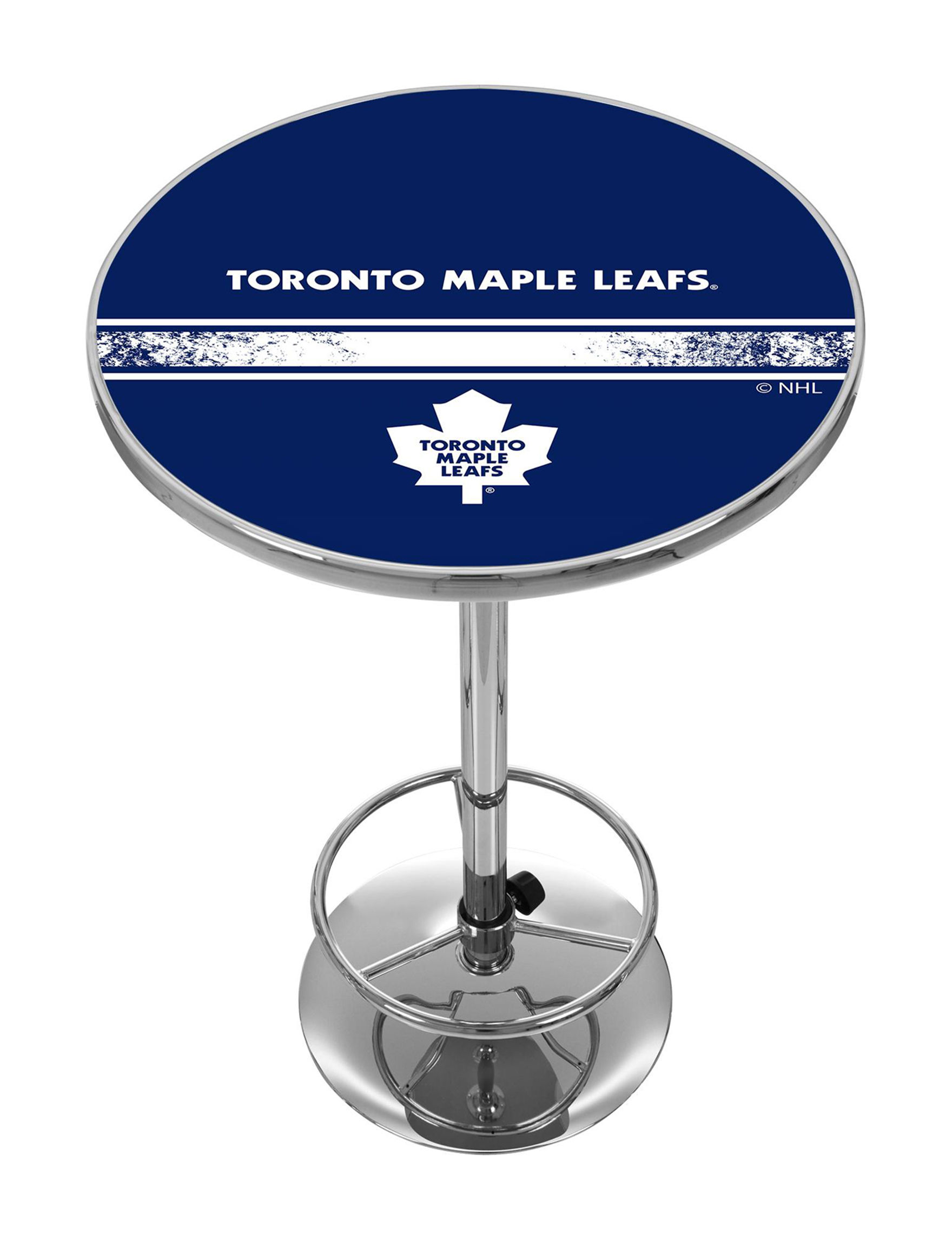 NHL Blue / White Dining Tables Kitchen & Dining Furniture