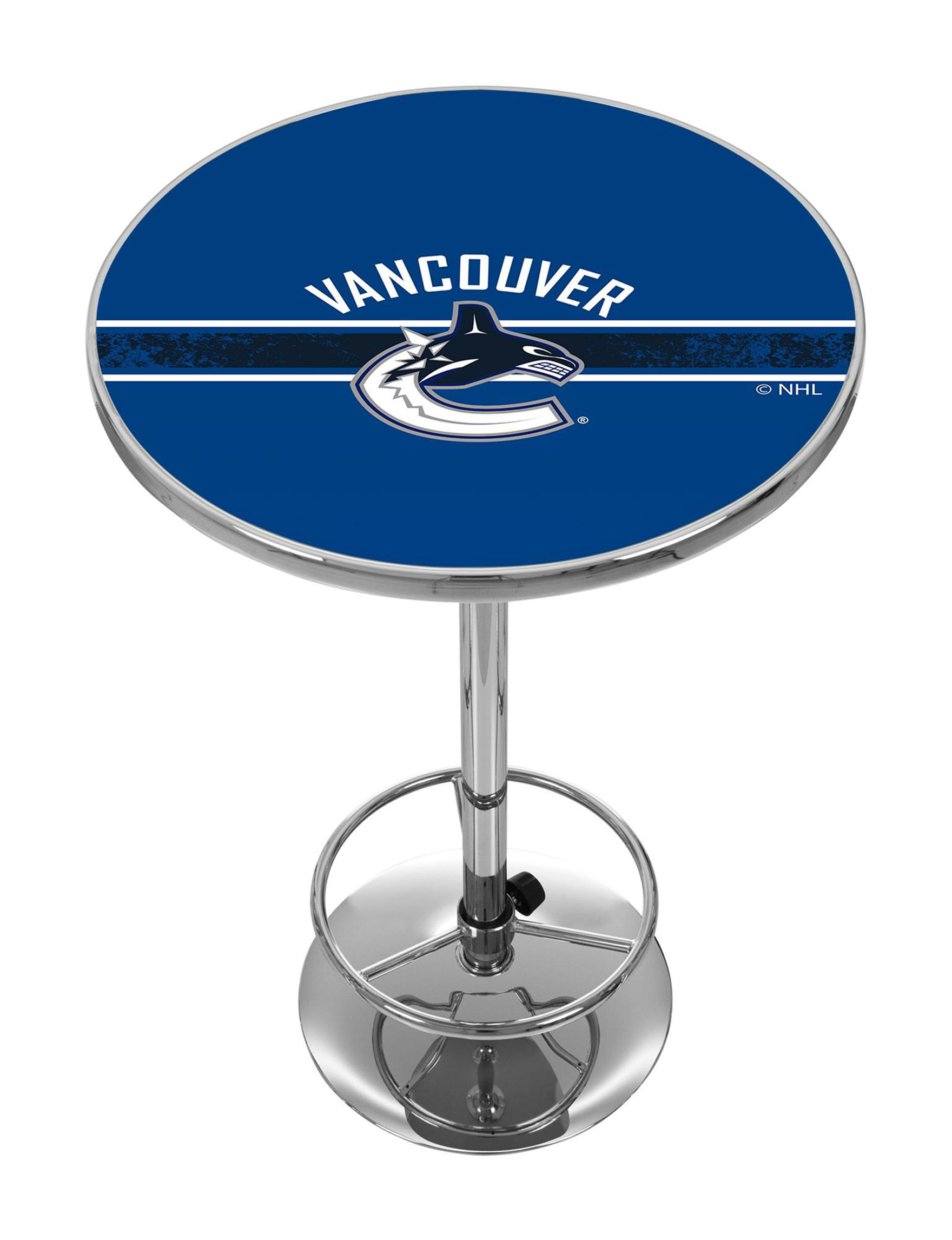 NHL Blue / White / Black Dining Tables Kitchen & Dining Furniture
