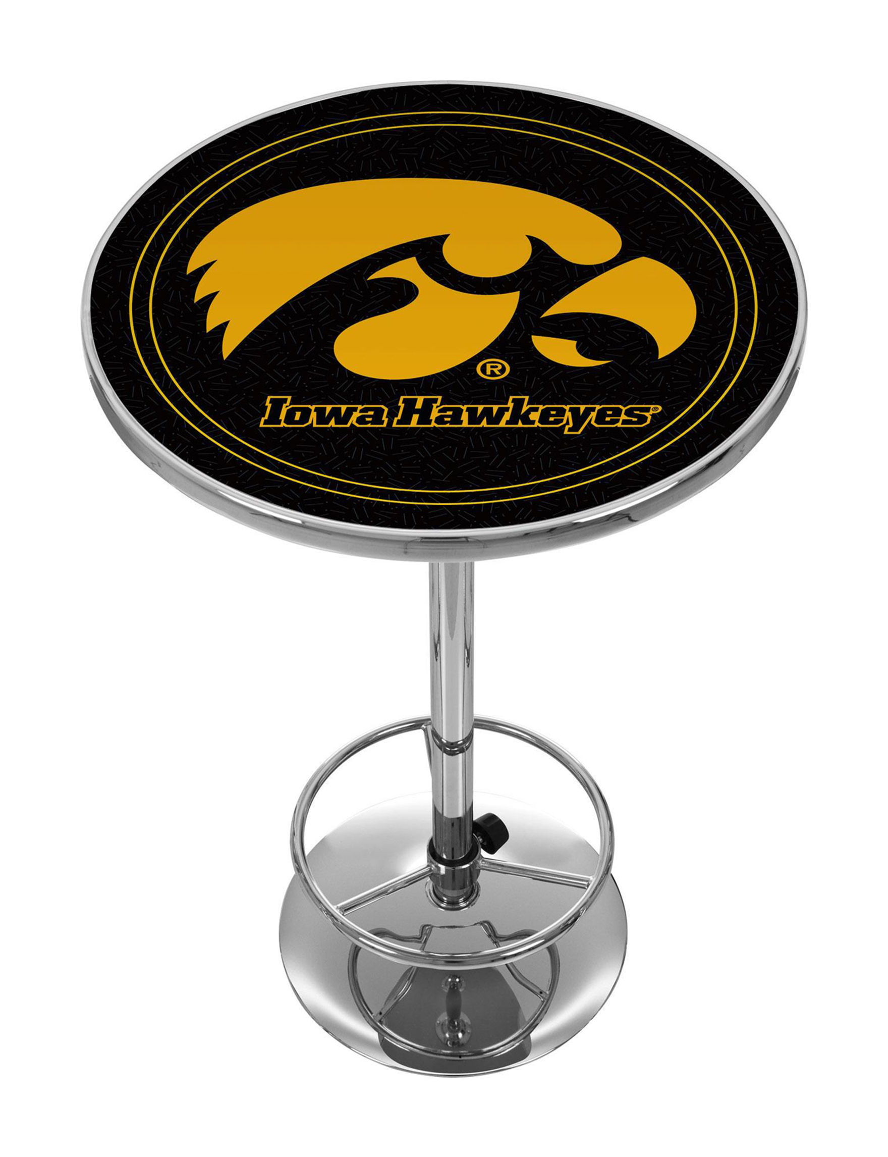 NCAA Black / Gold Dining Tables Kitchen & Dining Furniture