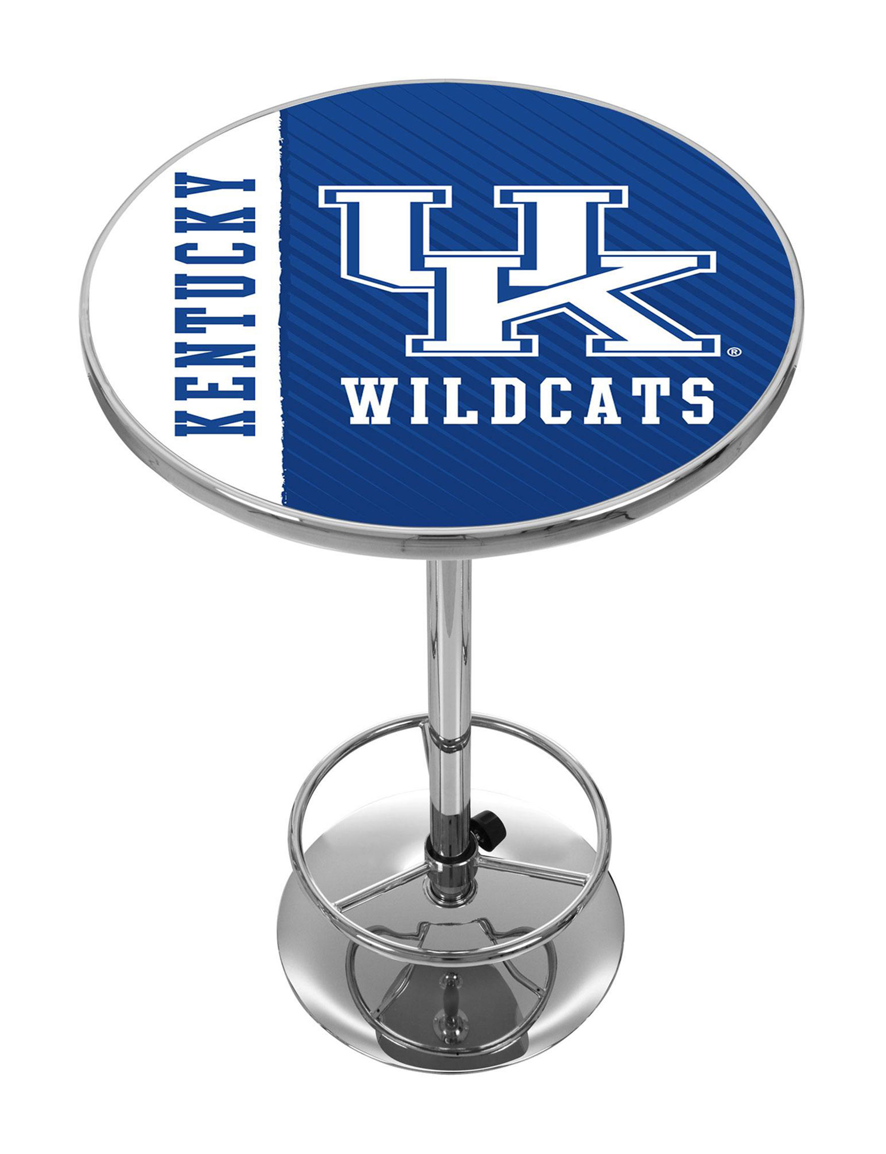 NCAA Blue / White Dining Tables Kitchen & Dining Furniture