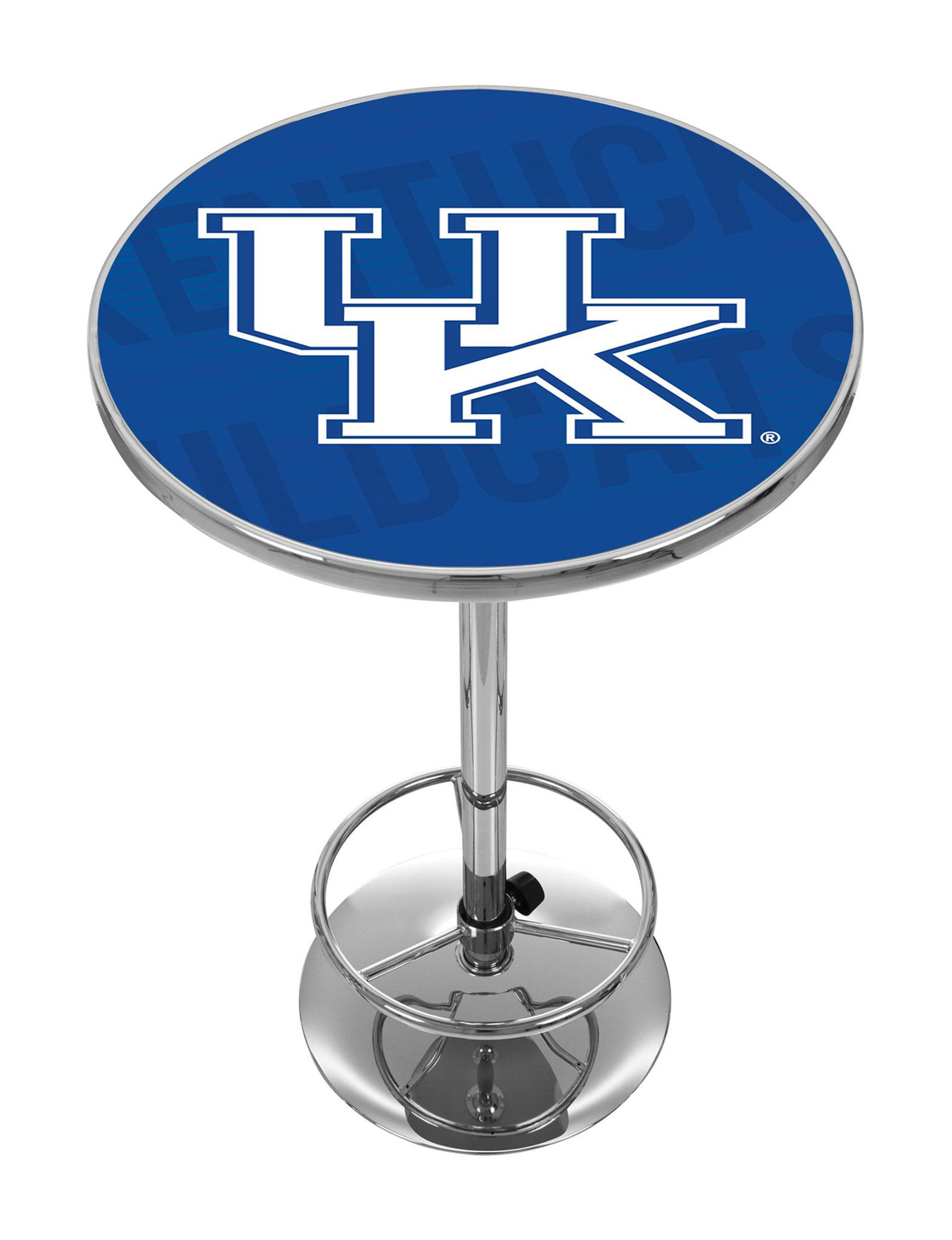 NCAA Blue / White Dining Tables Kitchen & Dining Furniture NCAA