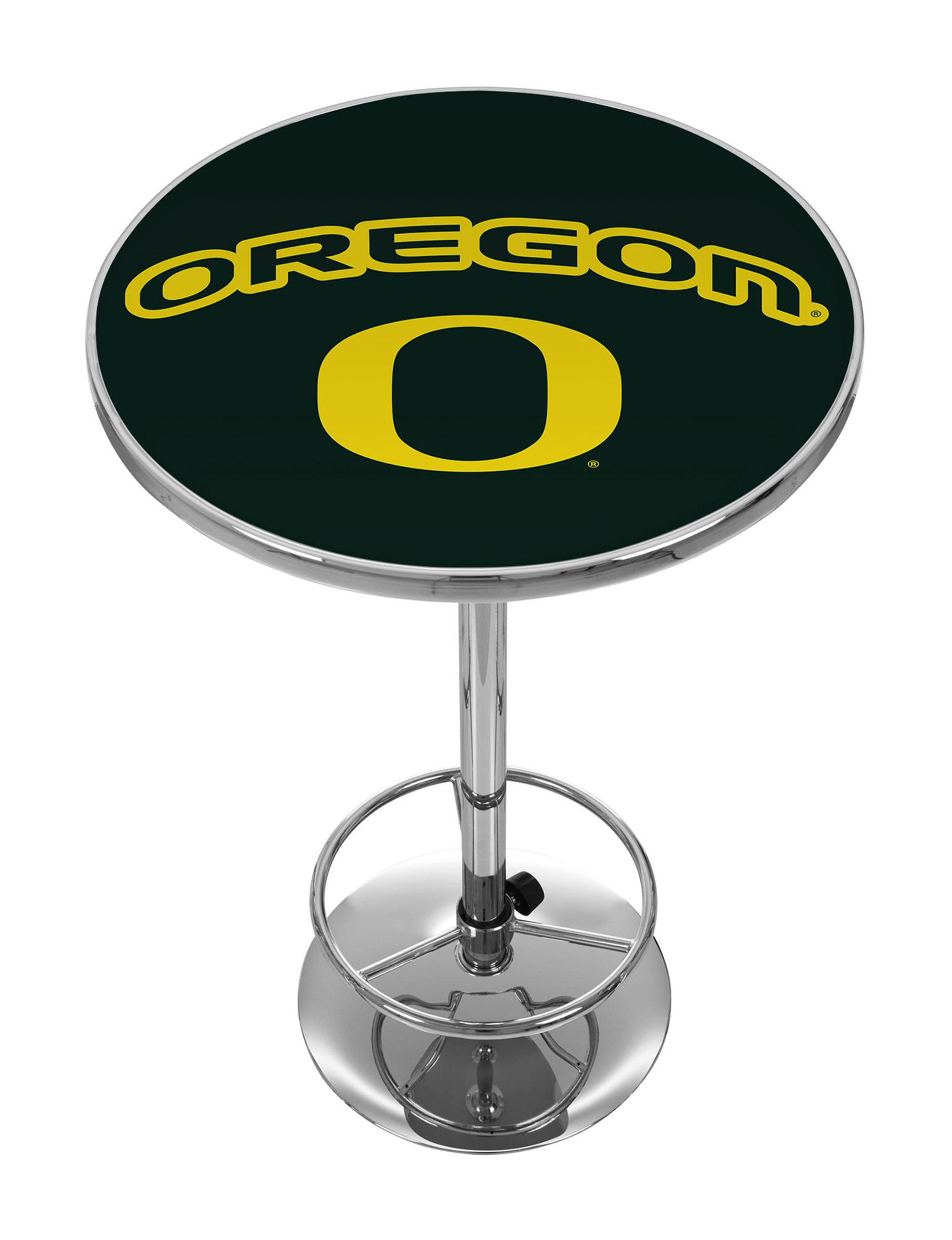 NCAA Green / Yellow Dining Tables Kitchen & Dining Furniture NCAA