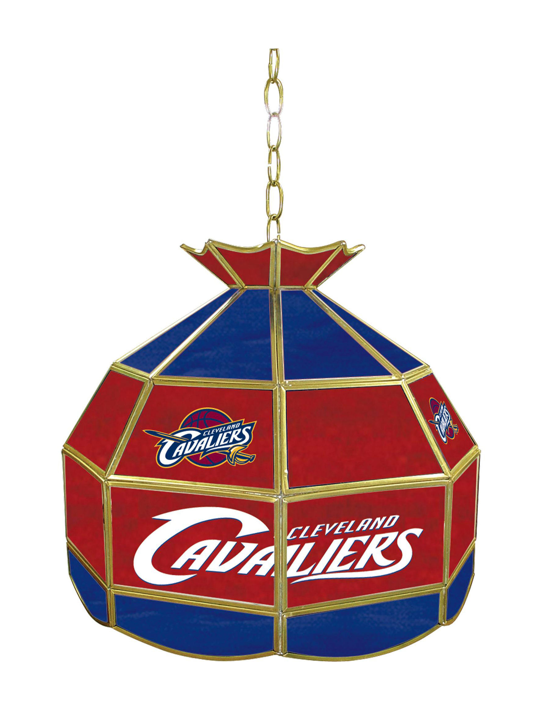 NBA Navy / Red Chandeliers Lights & Lanterns Lighting & Lamps