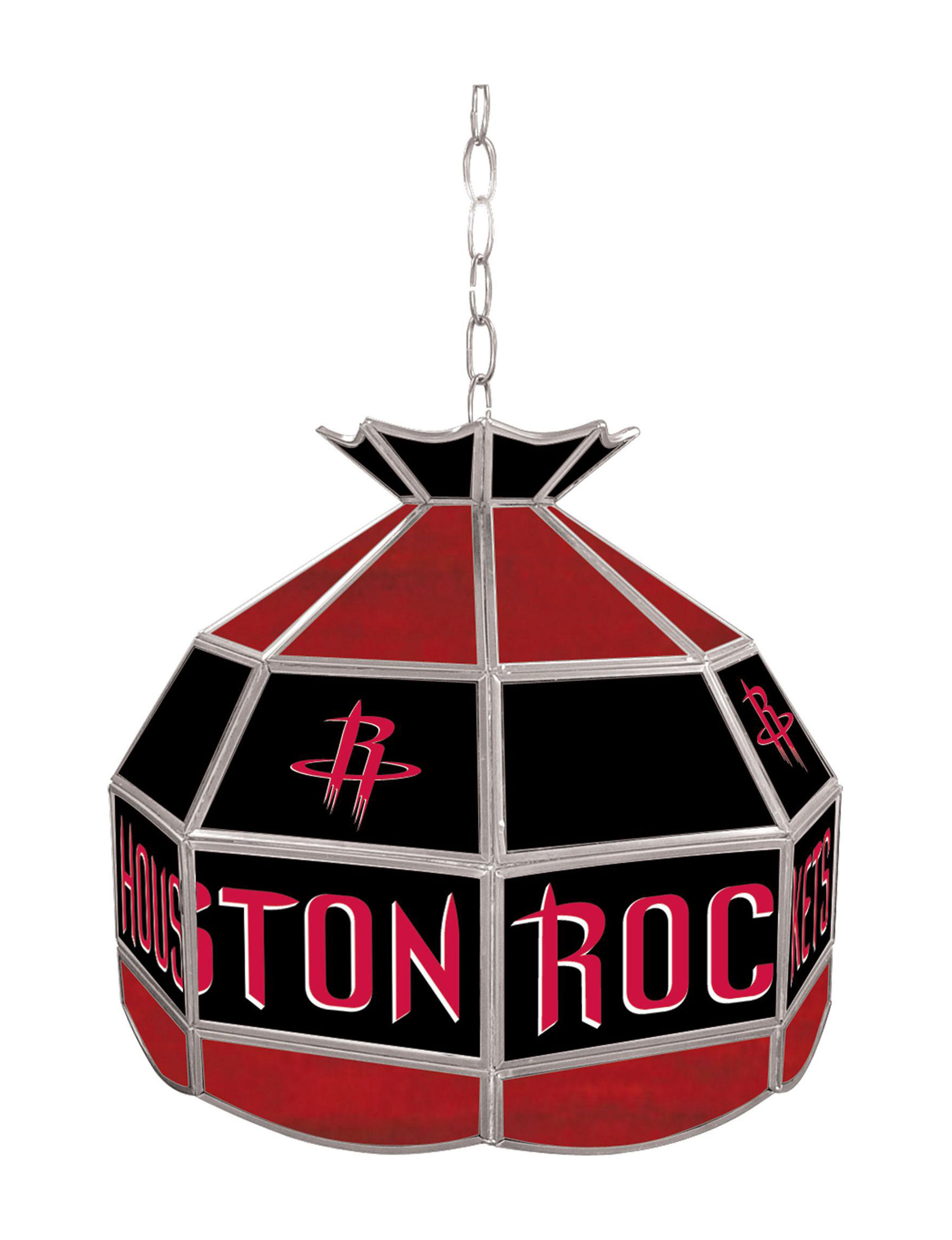 NBA Red / Black Chandeliers Lights & Lanterns Lighting & Lamps