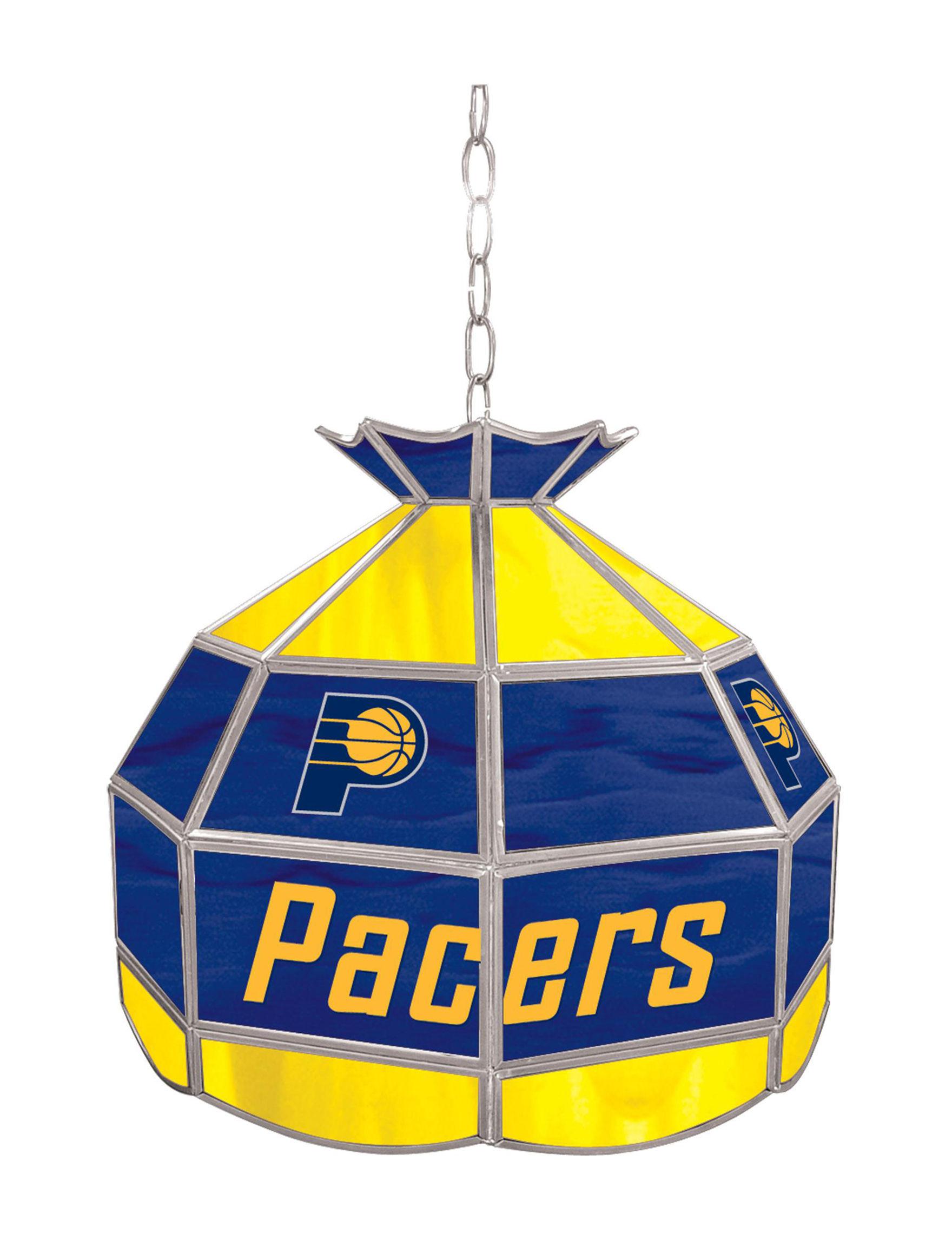 NBA Blue / Yellow Chandeliers Lights & Lanterns Lighting & Lamps