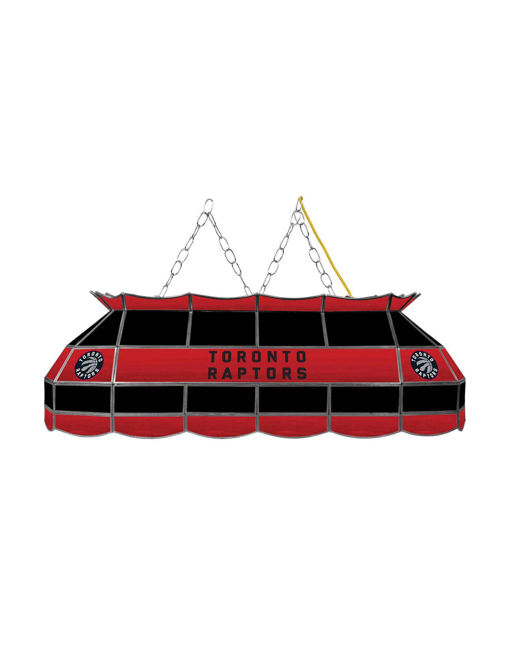 NBA Black / Red / White Chandeliers Lights & Lanterns Lighting & Lamps