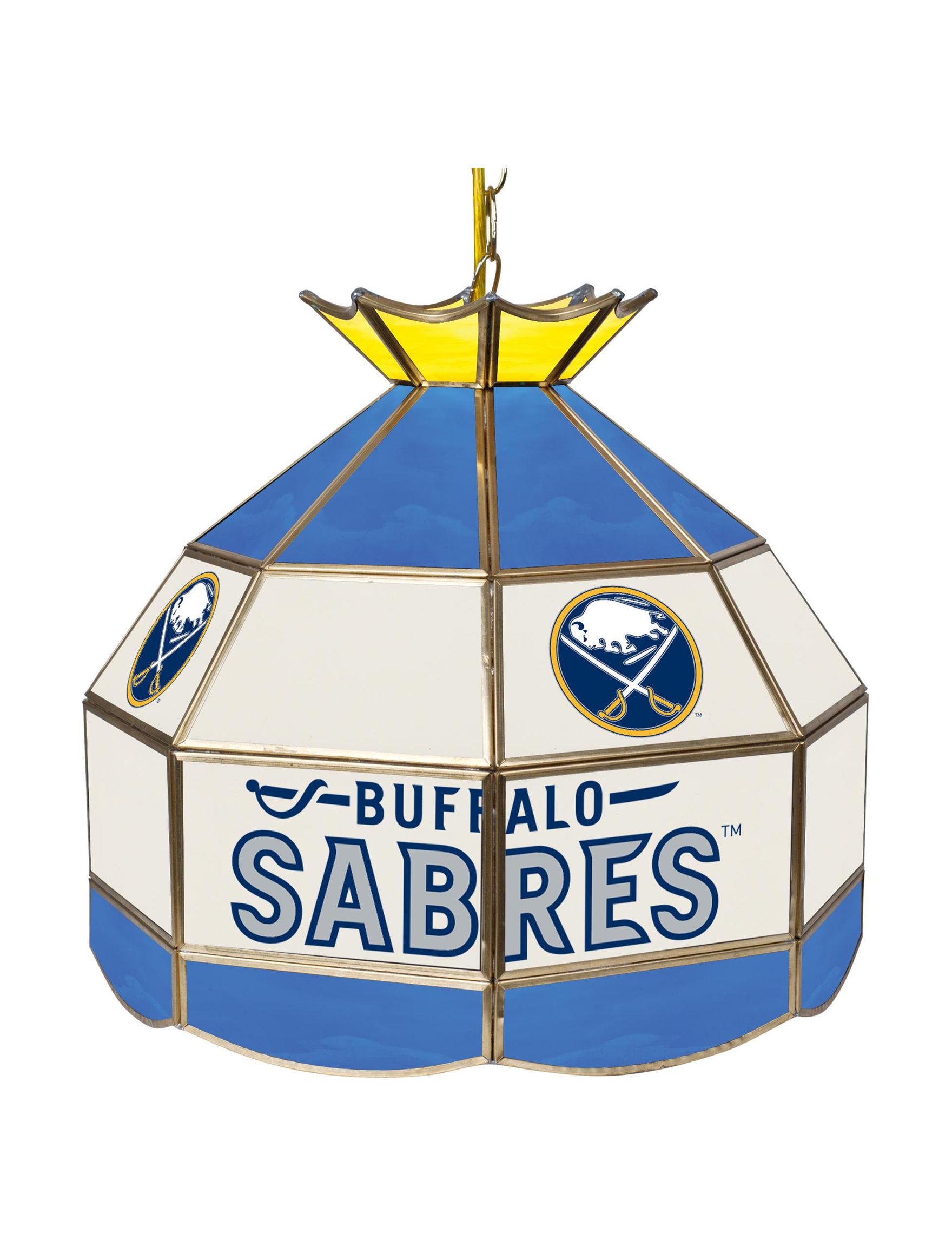NHL Blue / Silver Chandeliers Lights & Lanterns Lighting & Lamps
