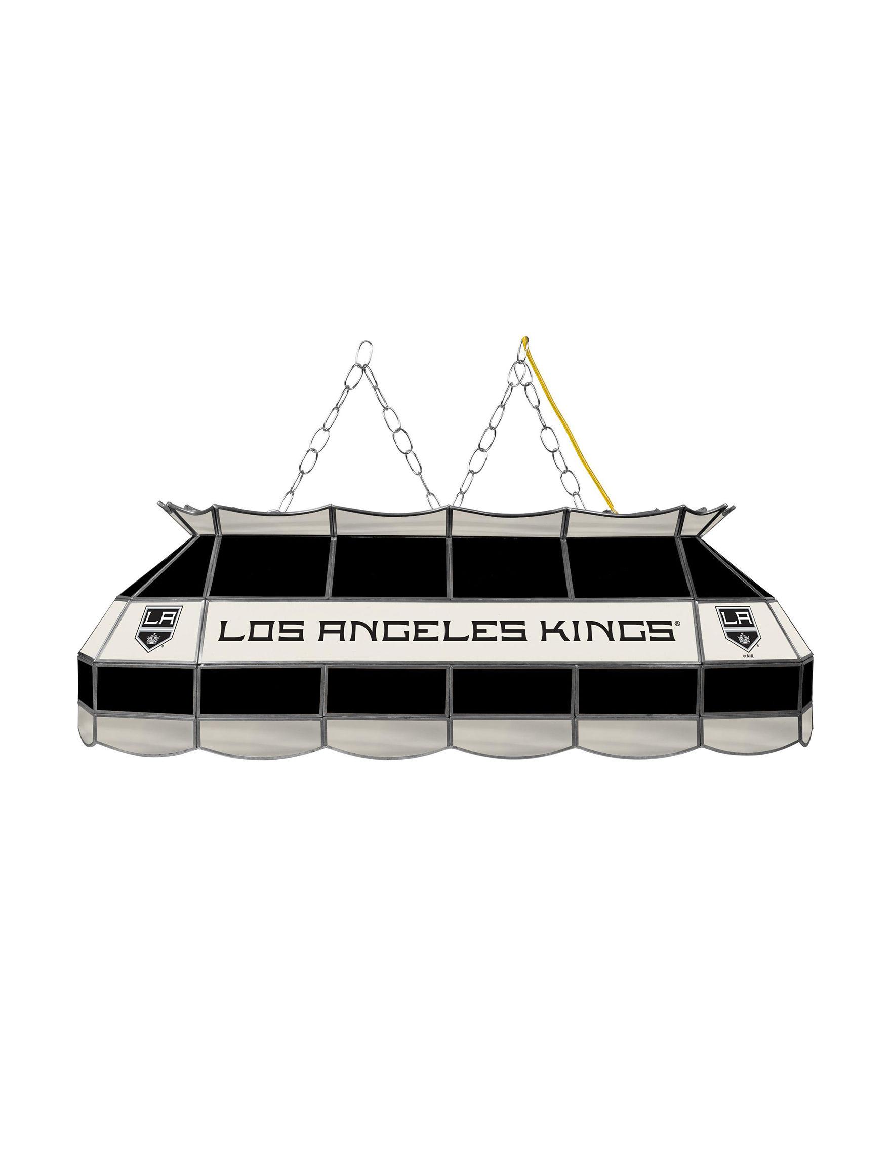 NHL Black / Silver / White Chandeliers Lights & Lanterns Lighting & Lamps