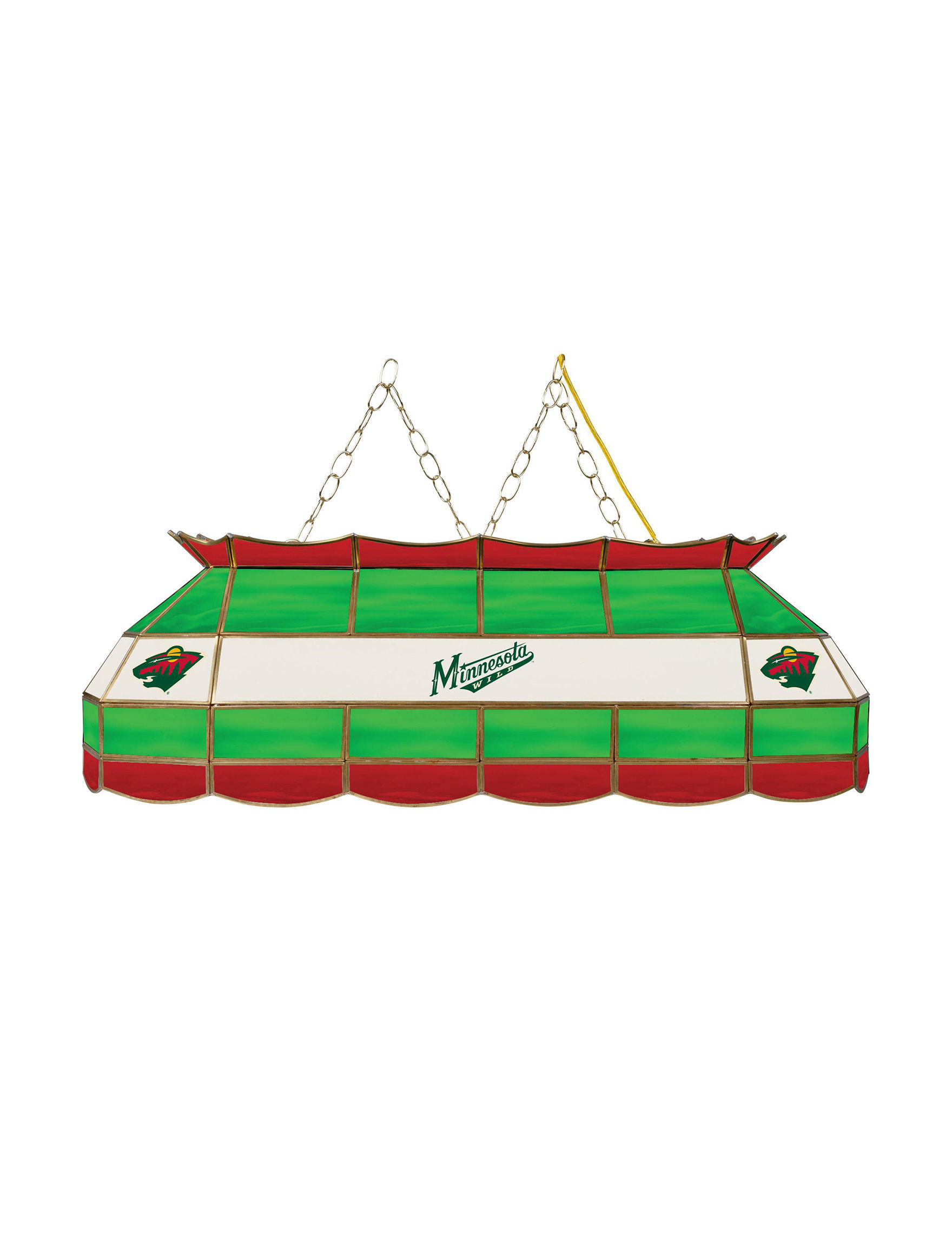 NHL Green / Red Chandeliers Lights & Lanterns Lighting & Lamps