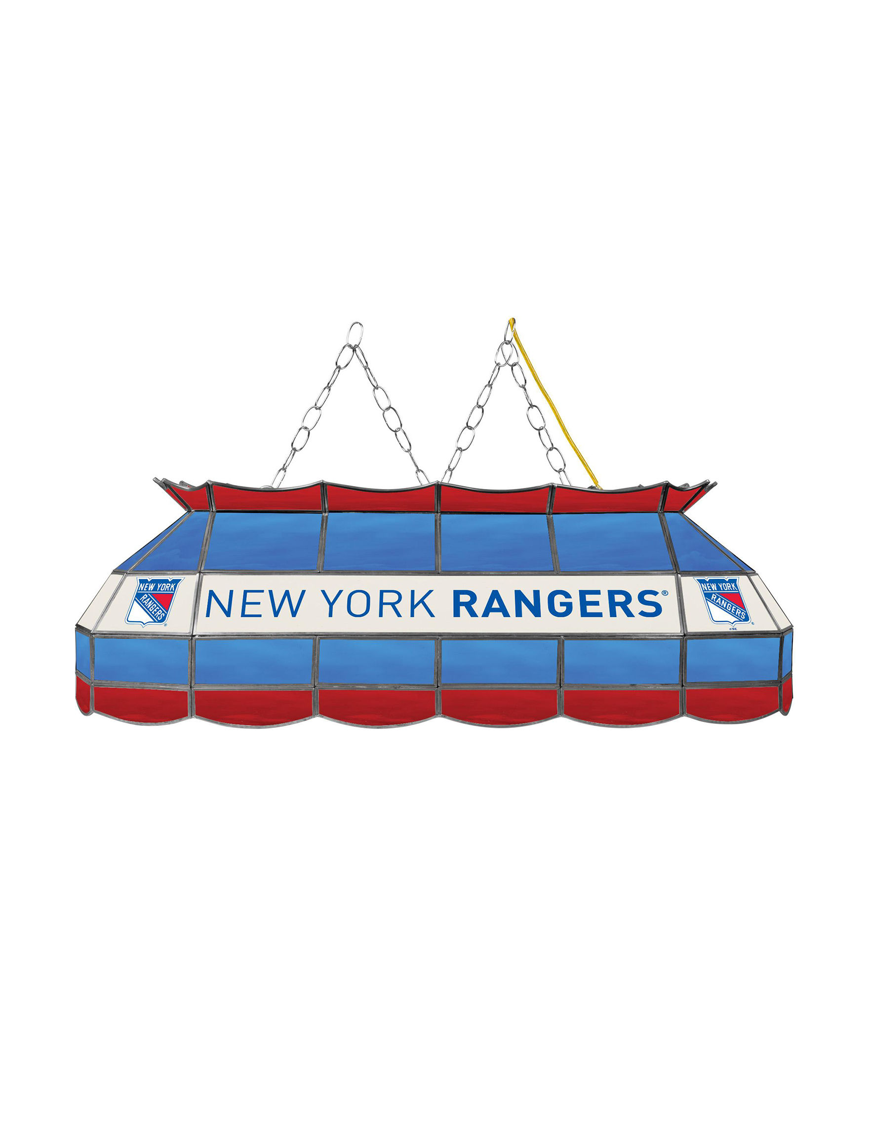NHL Red / White / Blue Chandeliers Lights & Lanterns Lighting & Lamps