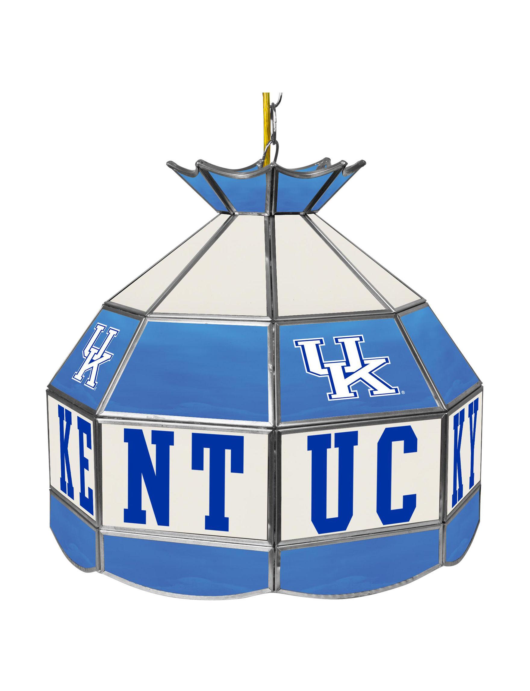 NCAA Blue / White Chandeliers Lights & Lanterns Lighting & Lamps
