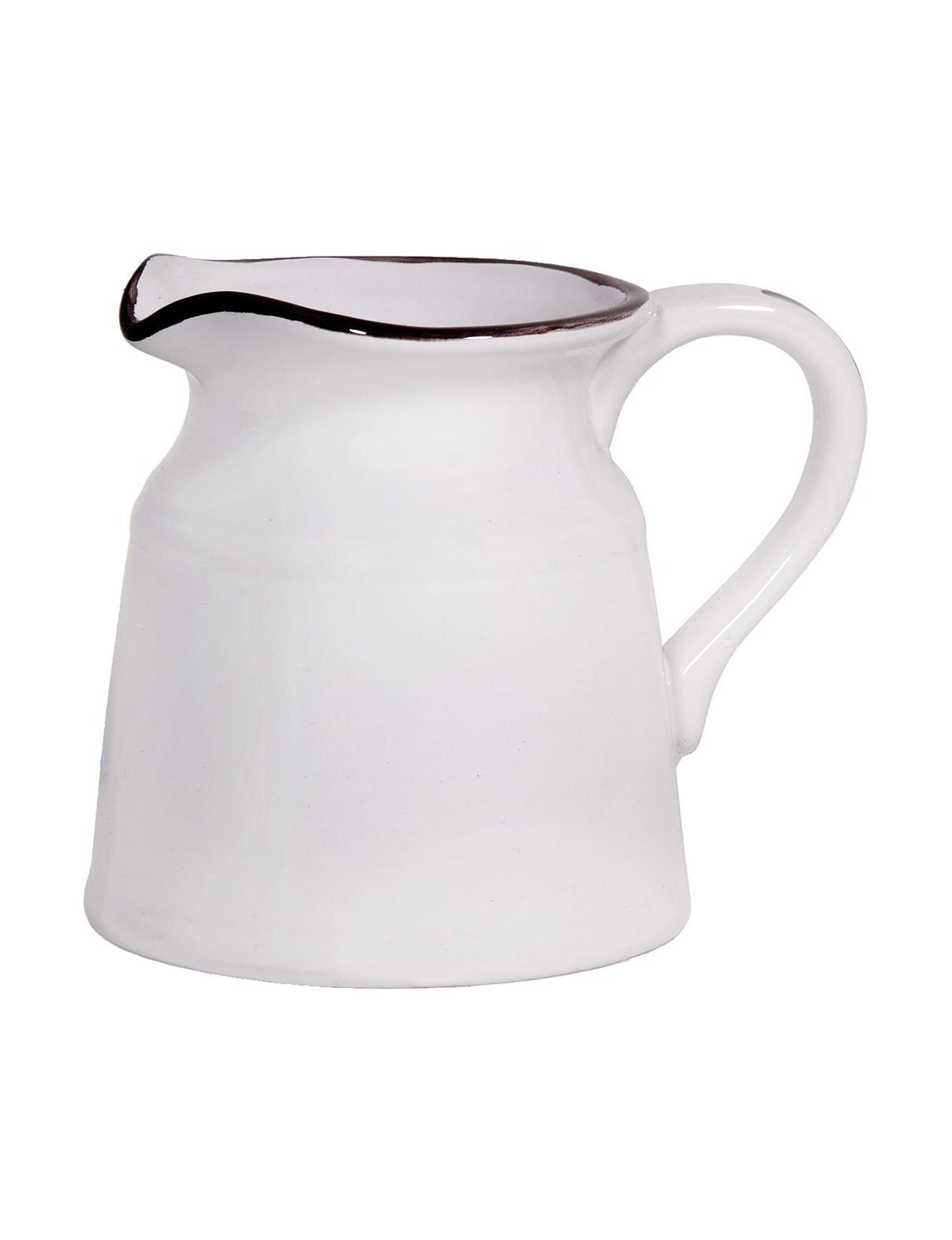Home Essentials White / Silver Pitchers & Punch Bowls Serveware