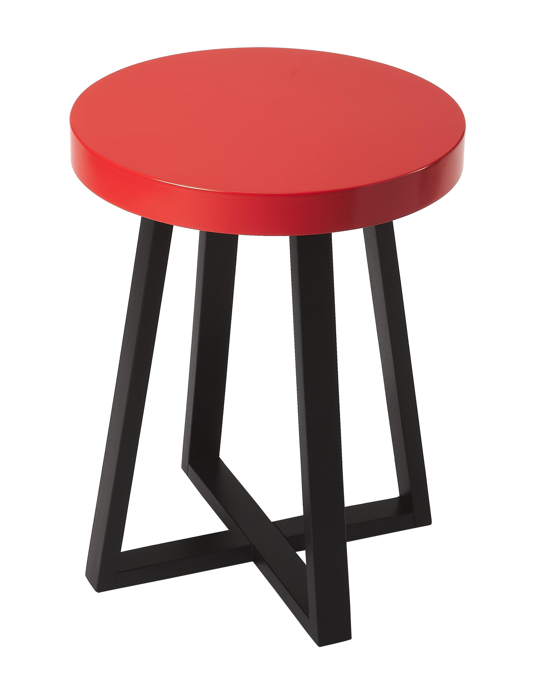 Butler Specialty Co. Red / Black Accent & End Tables Living Room Furniture