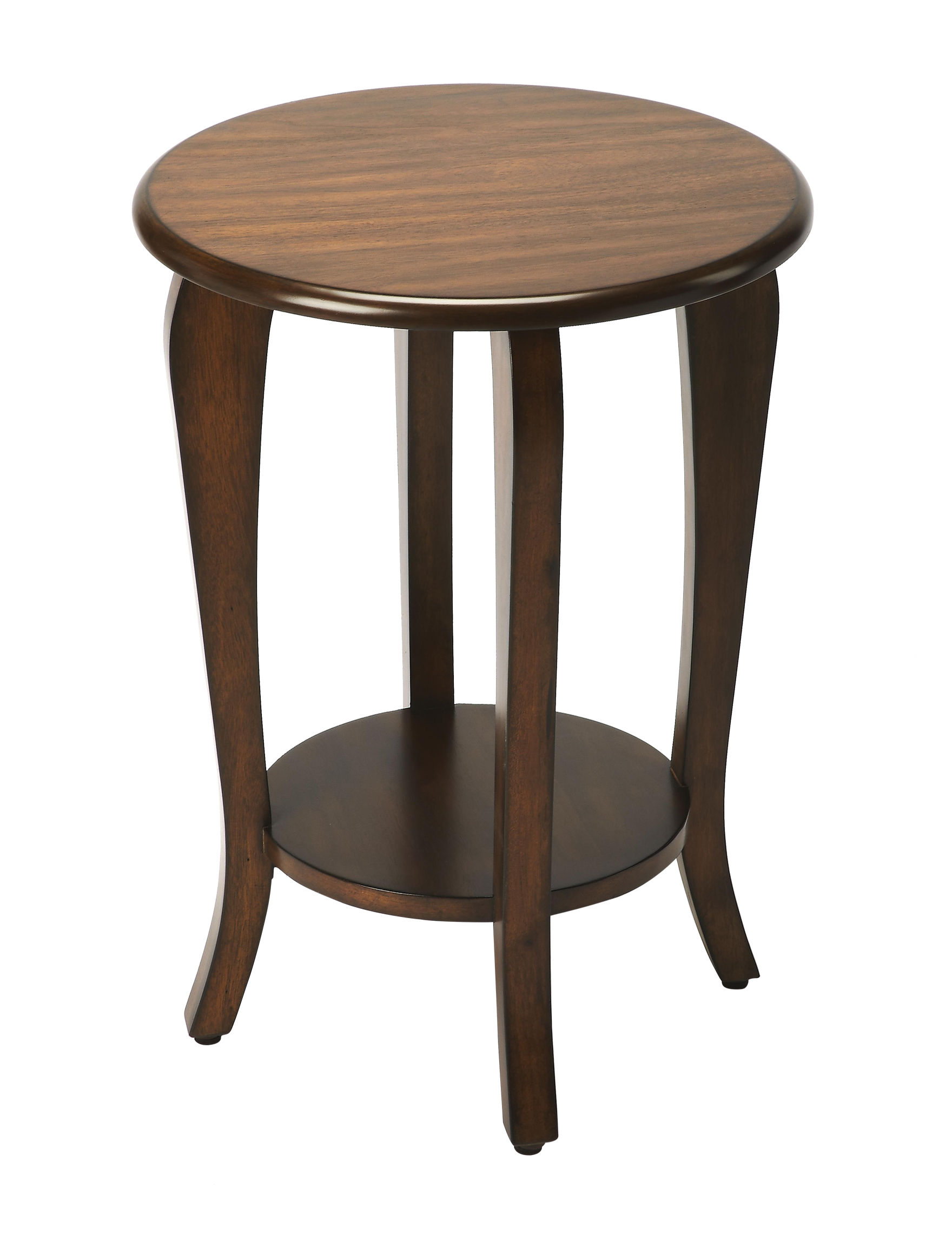 Butler Specialty Co. Dark Brown Accent & End Tables Living Room Furniture