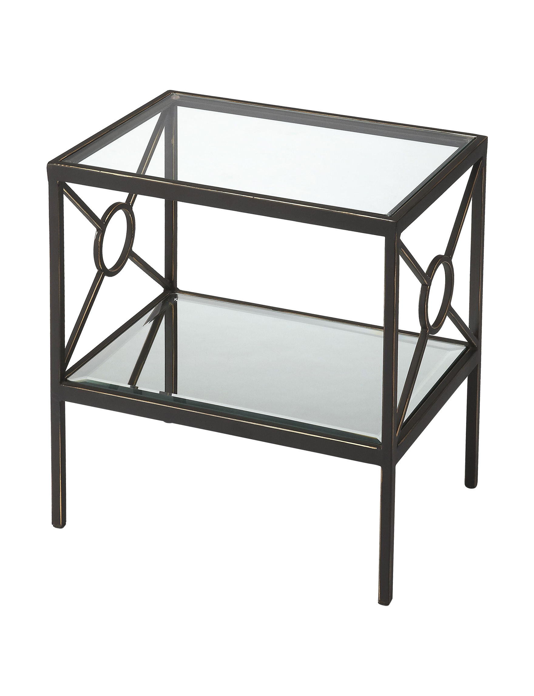 Butler Specialty Co. Metal Accent & End Tables Living Room Furniture