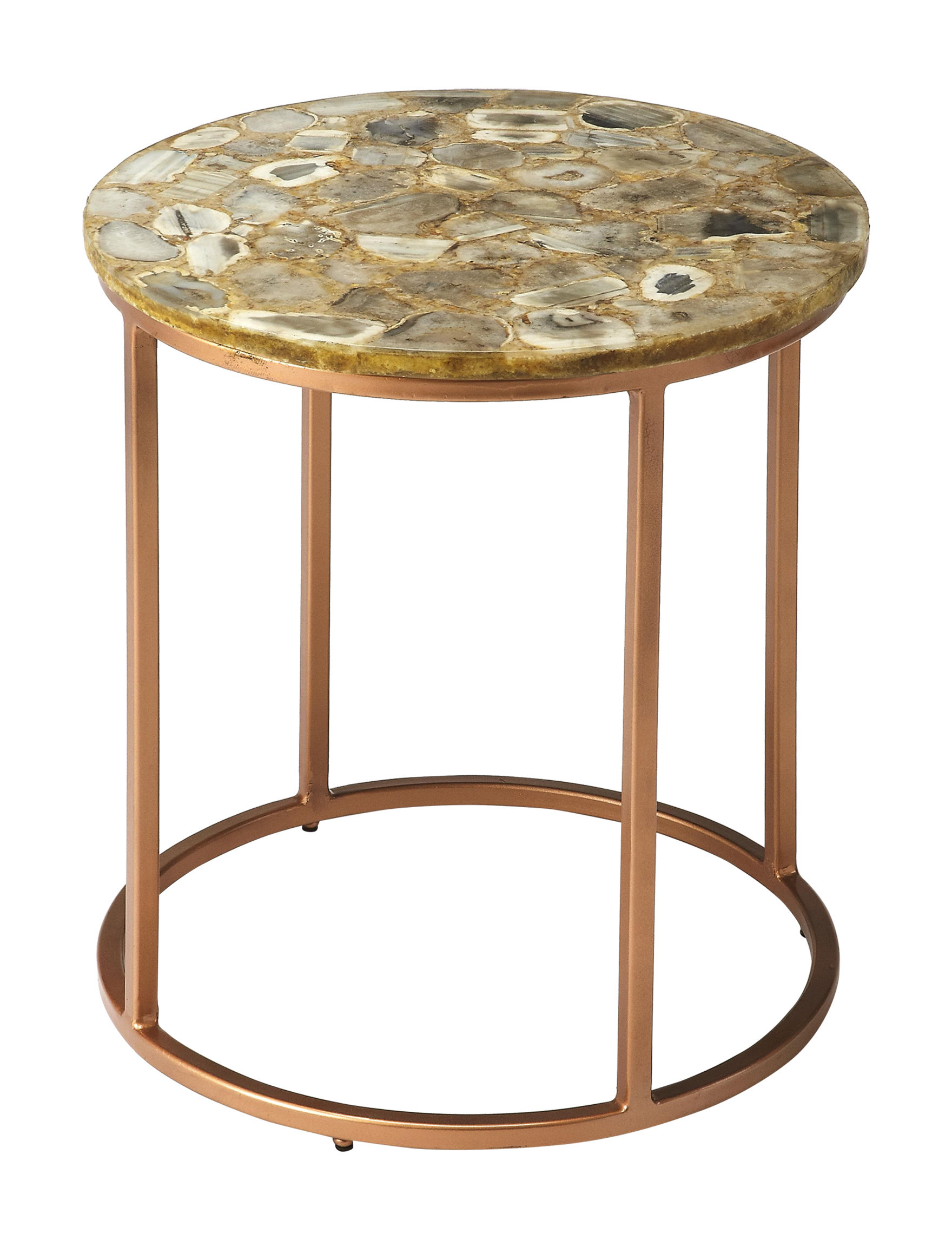 Butler Specialty Co. Gold Accent & End Tables Living Room Furniture