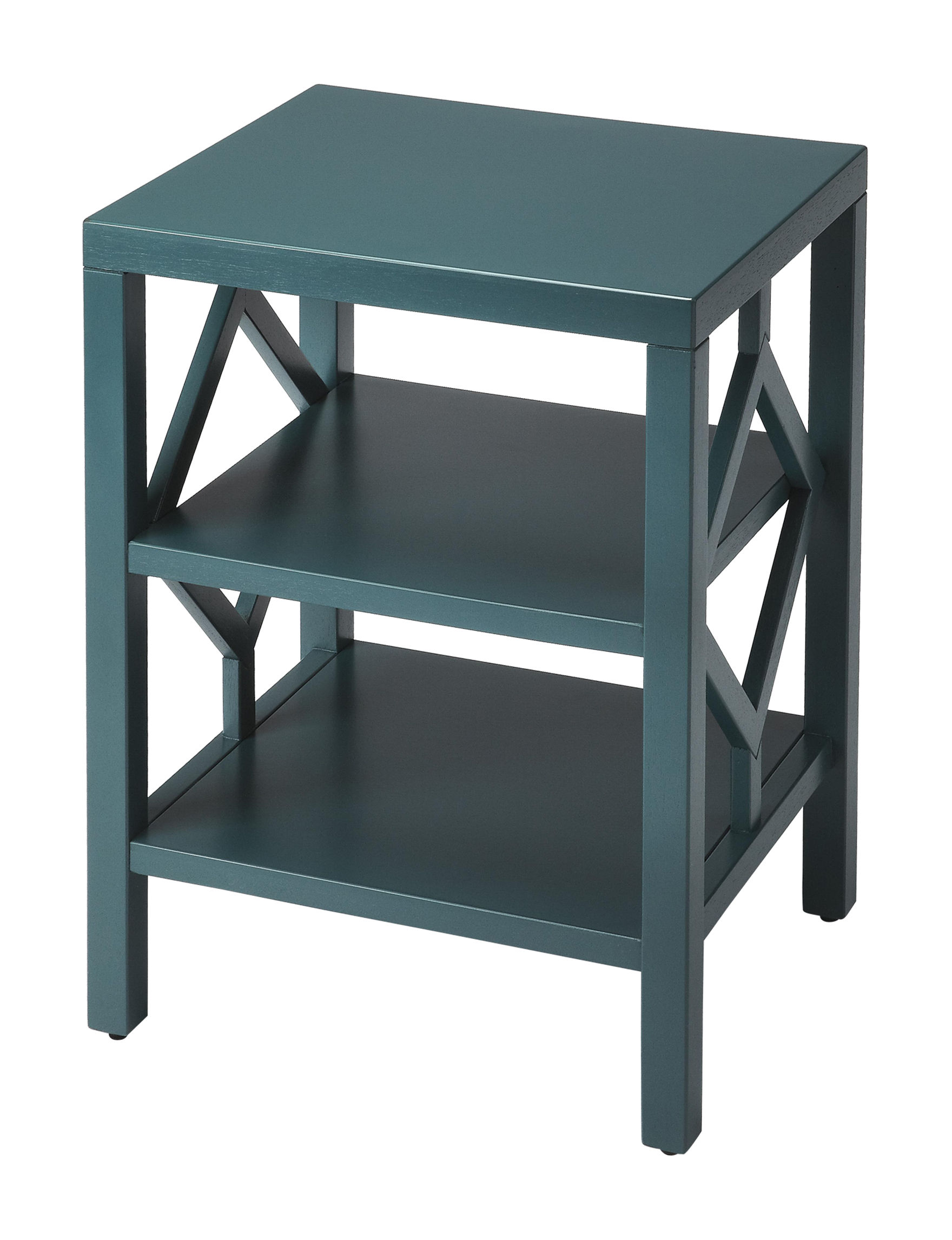Butler Specialty Co. Blue Accent & End Tables Living Room Furniture