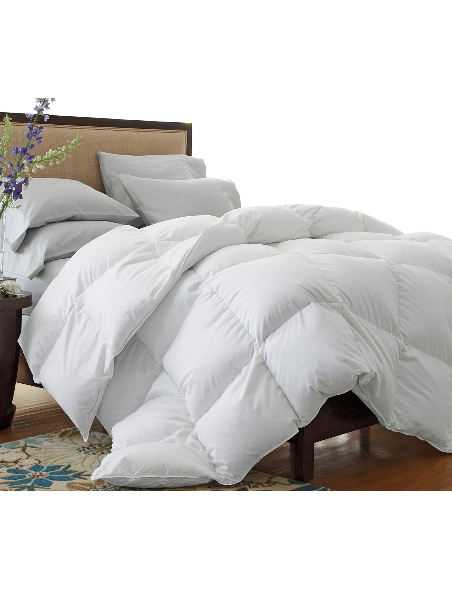 Superior White Down & Down Alternative Comforters