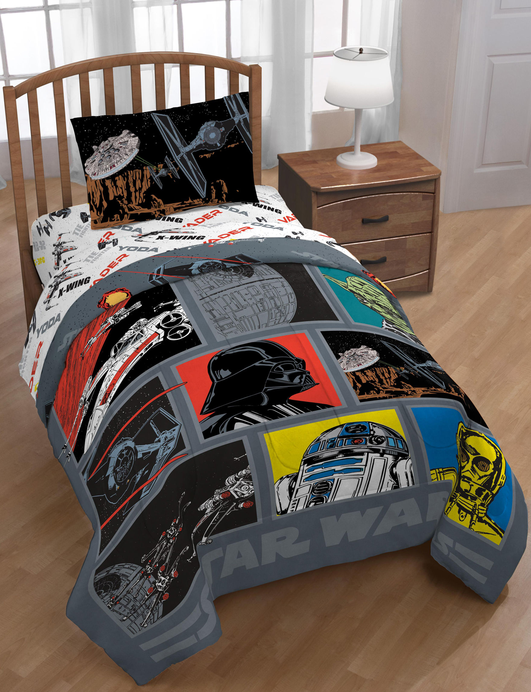 Hasbro Grey Multi Sheets & Pillowcases