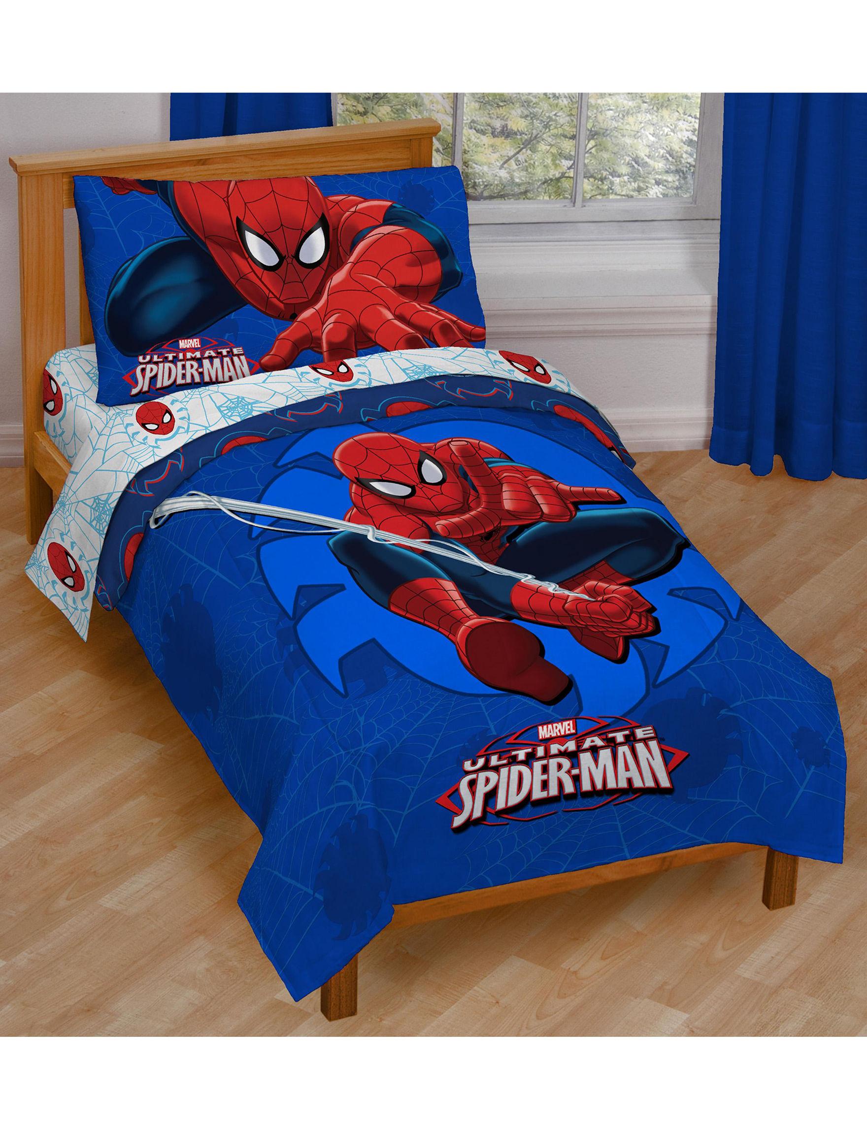 Marvel Blue / Multi Blankets & Throws