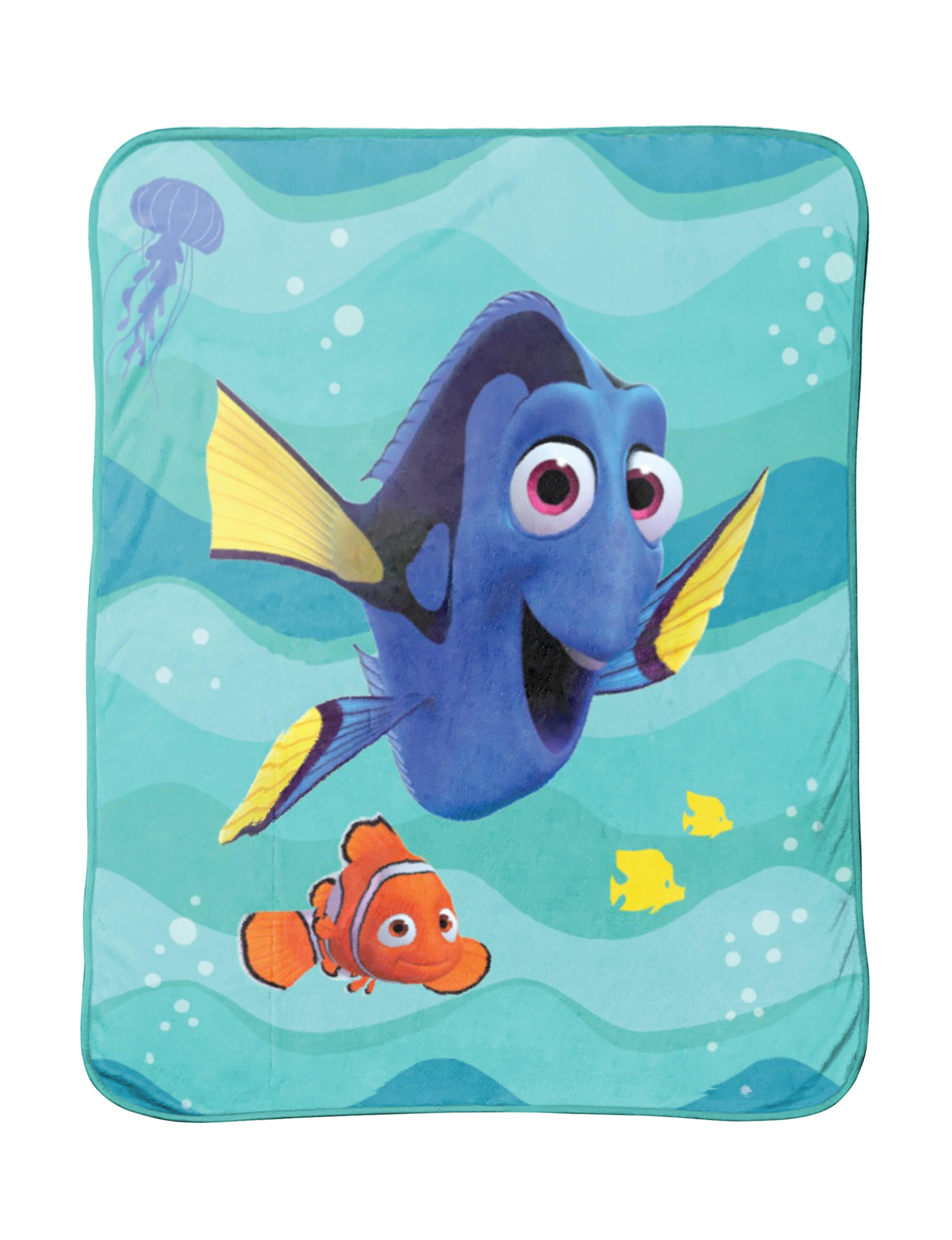 Disney Teal Blankets & Throws