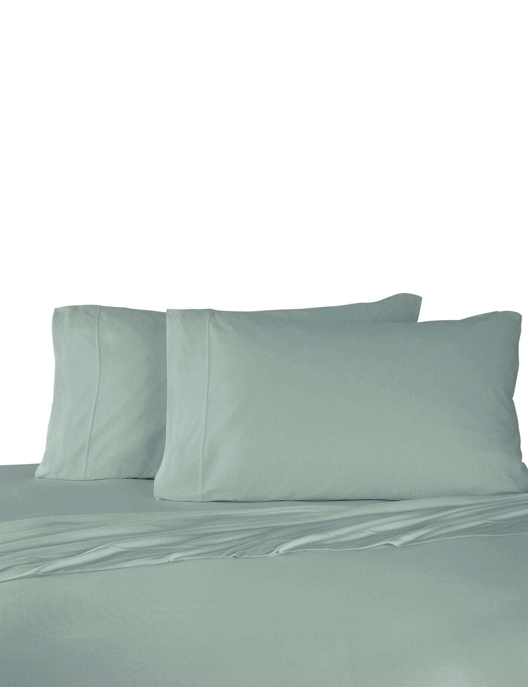 Martex Green Sheets & Pillowcases