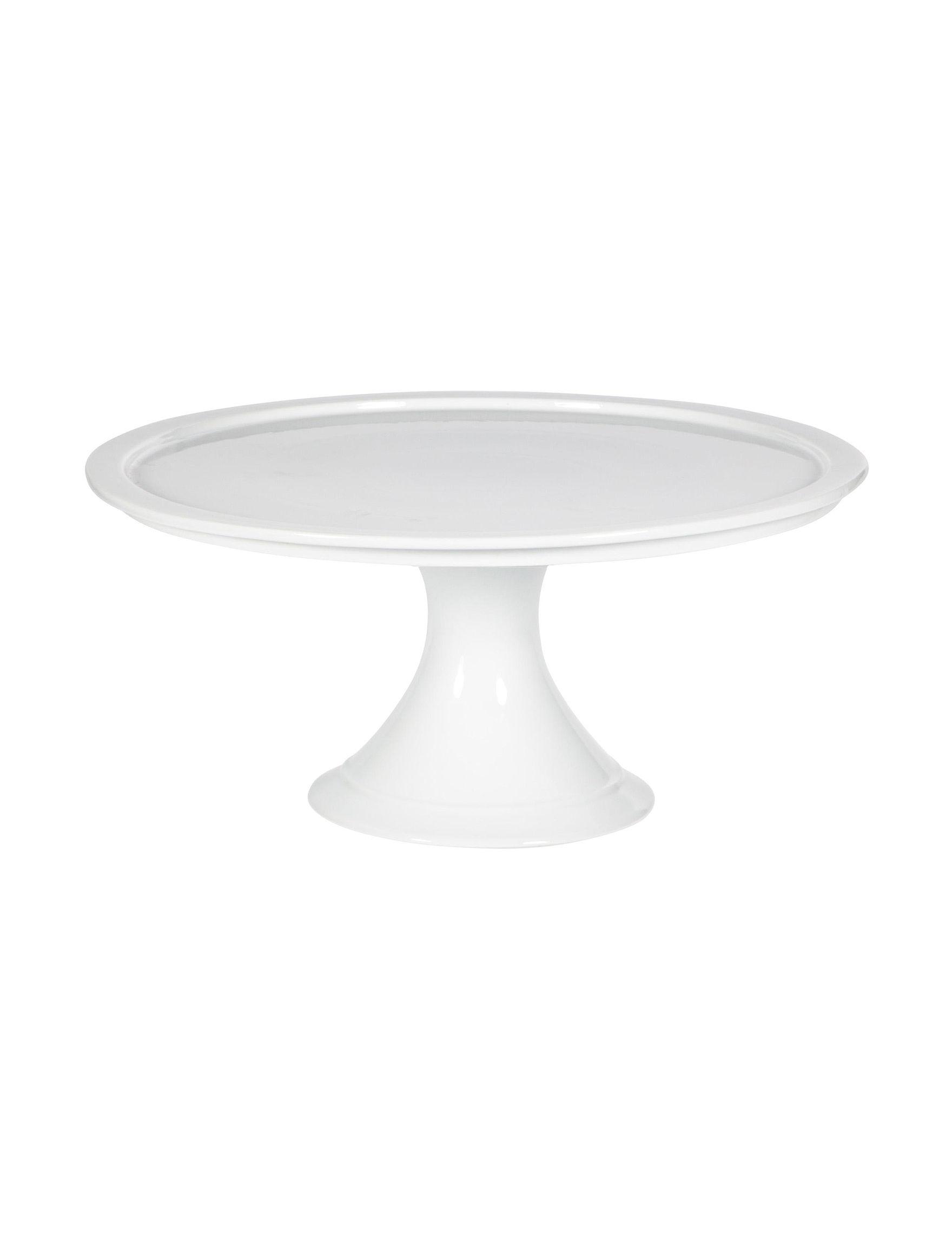 Home Essentials White / Silver Cake Stands & Tiered Servers Serveware