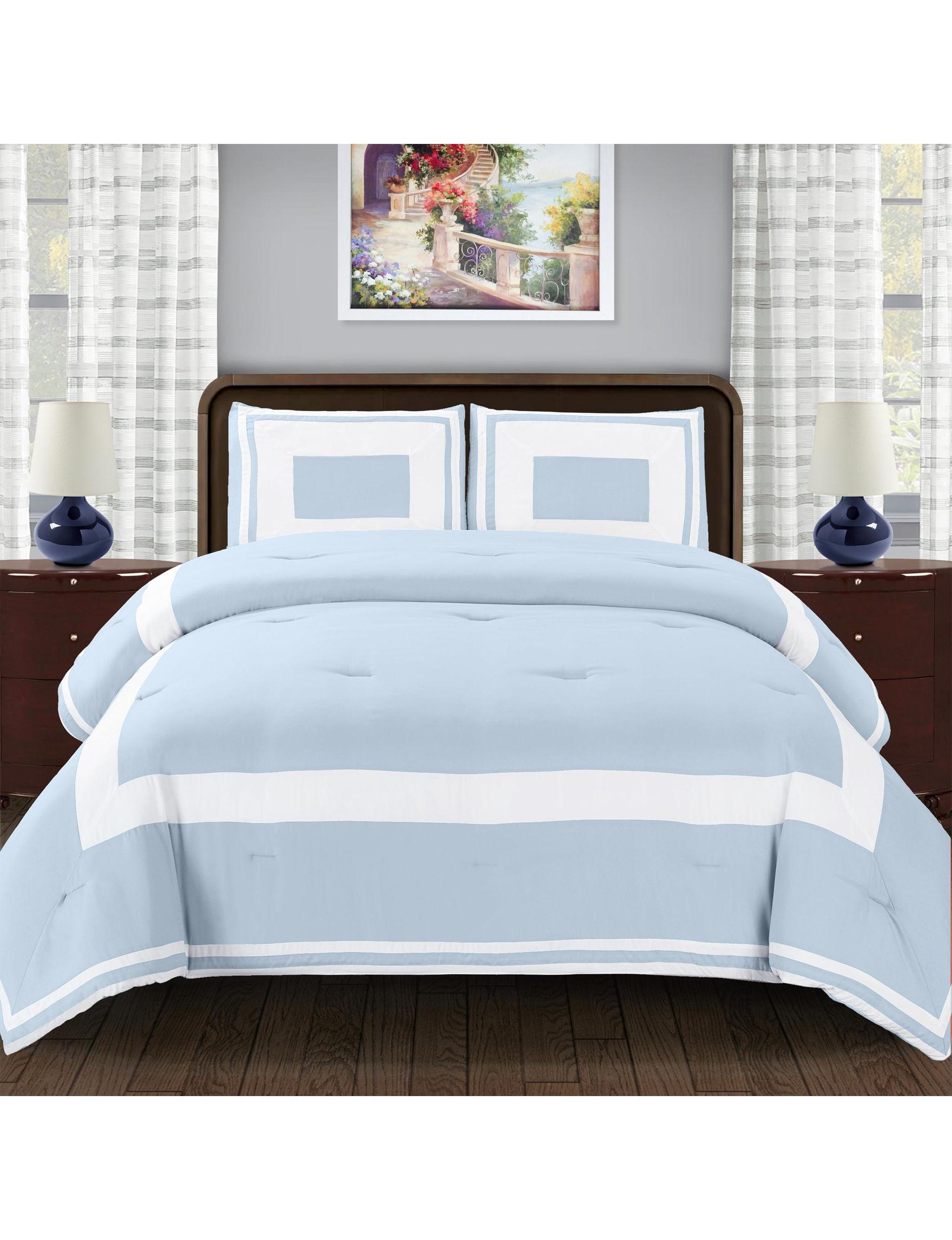 Superior Light Blue Comforters & Comforter Sets