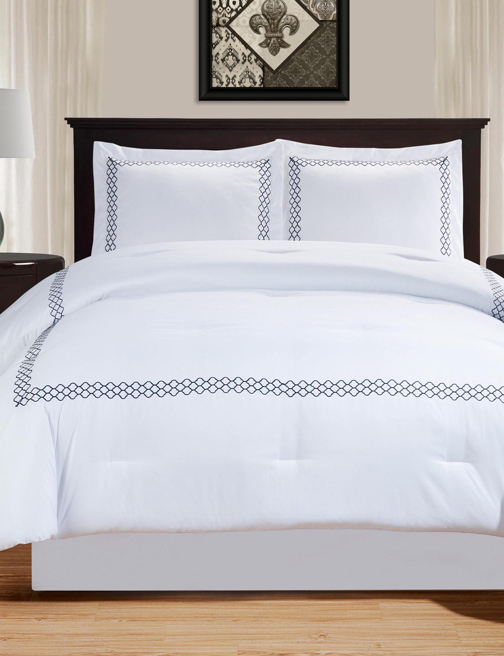 Superior Navy Comforters & Comforter Sets