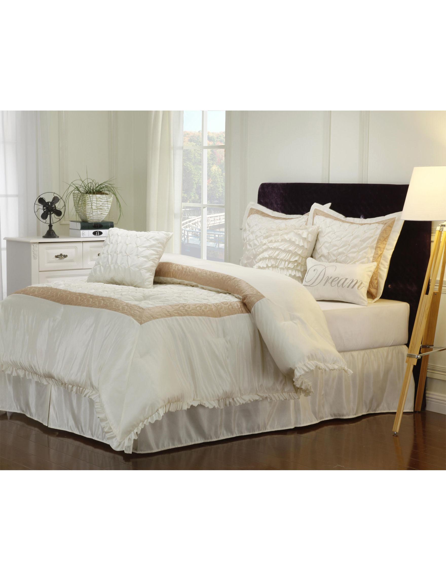Superior White / Multi Comforters & Comforter Sets