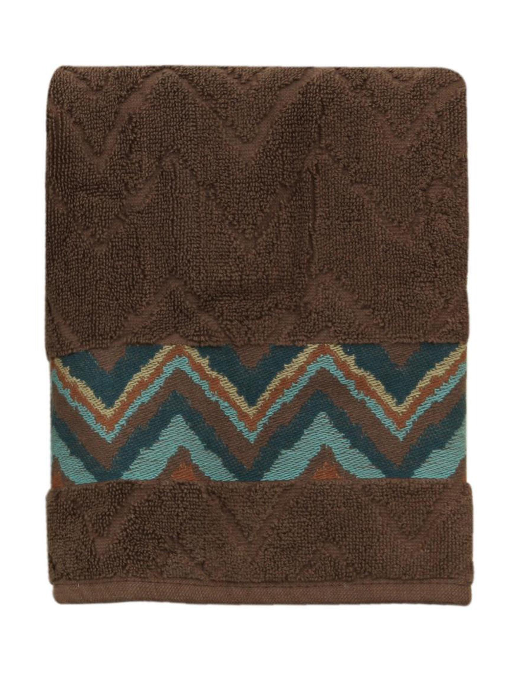 Bacova Guild Brown Bath Towels Hand Towels Towels